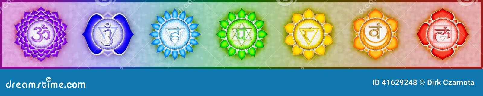 7 основа Chakras