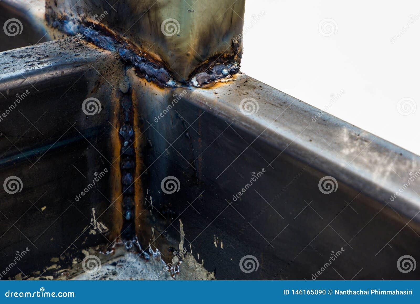 Основная заварка MIG для слабой стали