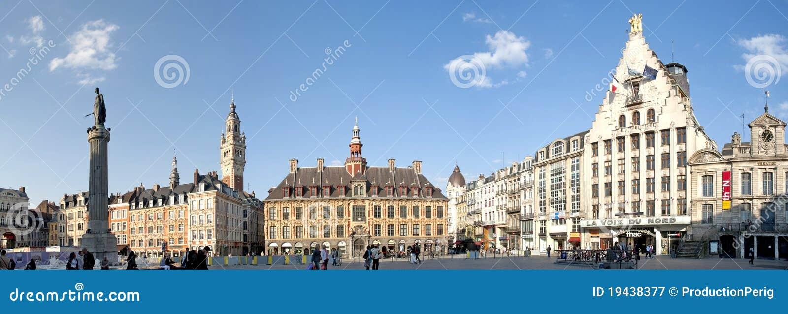 основной квадрат Франции lille