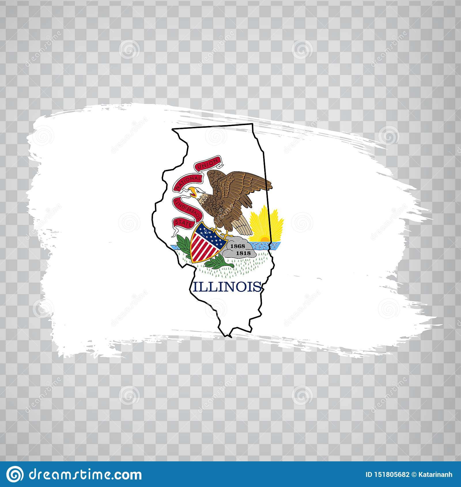 Flag Of Illinois From Brush Strokes And Blank Map Of ... Illinois State Map Cartoon on illinois map fun, illinois rt 66 map, illinois map 3d, illinois map western, illinois map book, illinois map outline, illinois map logo, illinois postcard, illinois map funny, illinois usa, illinois map crime, illinois map coloring page, illinois map joke, illinois map drawing, illinois on america, illinois black and white clip art, illinois map black, illinois map vintage, midwest cartoon, illinois map painting,