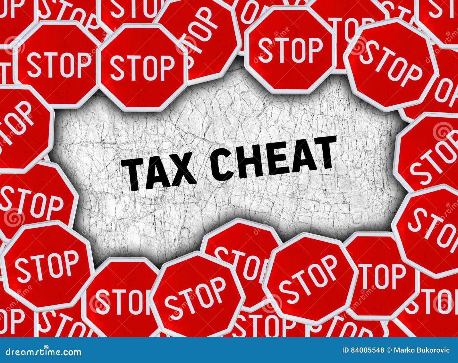 Остановите знак и сформулируйте плутовку налога
