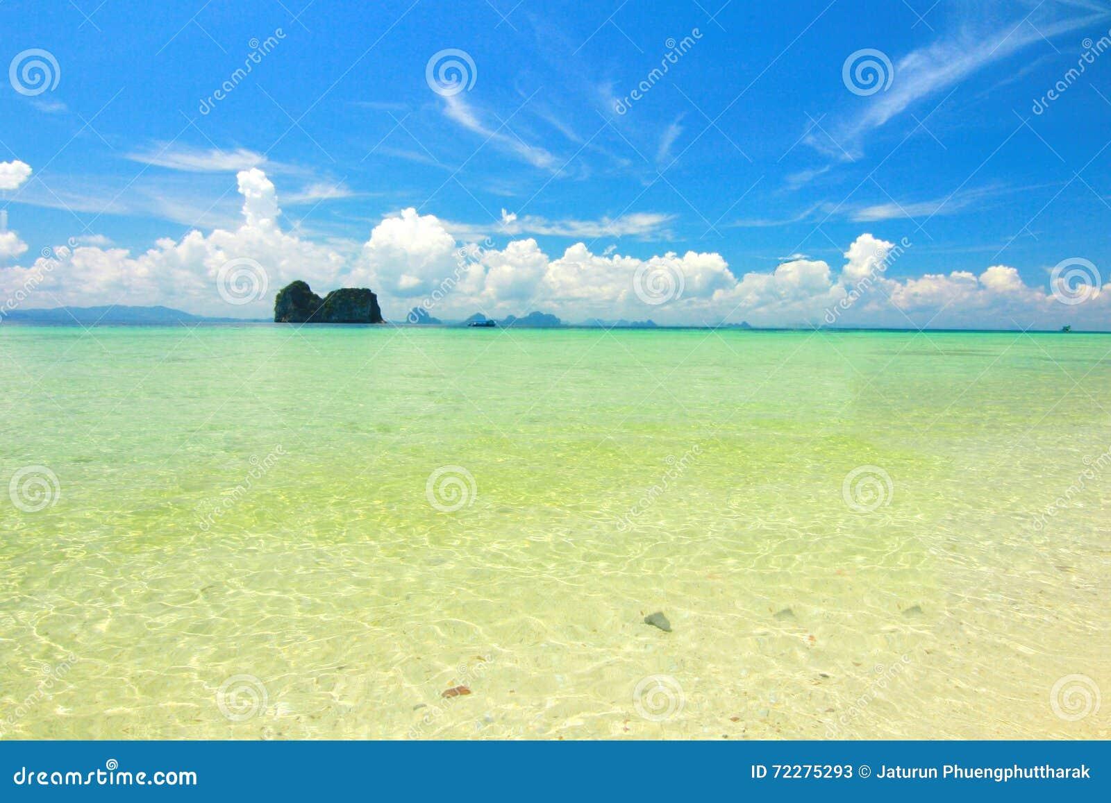 Download остров рая в Trang Таиланде Стоковое Изображение - изображение насчитывающей ослабьте, baxter: 72275293