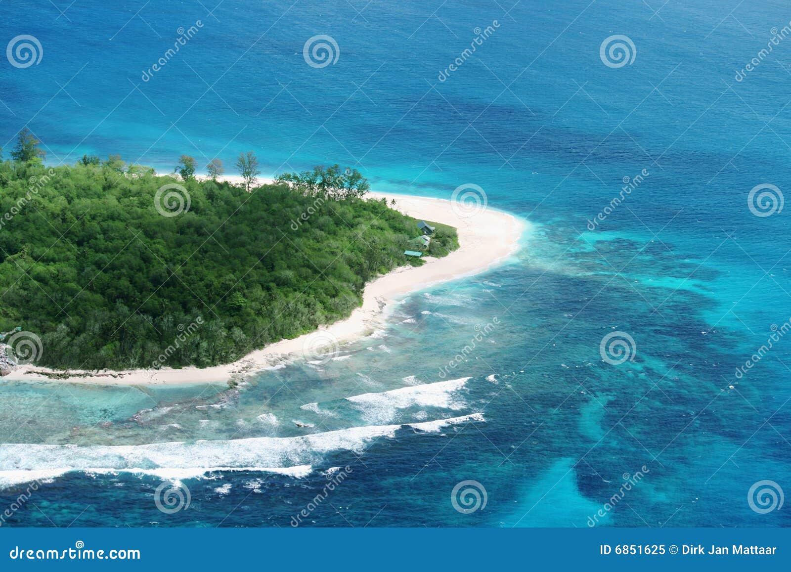 остров тропический