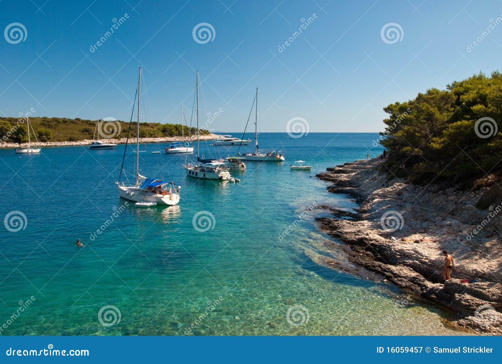 остров Хорватии
