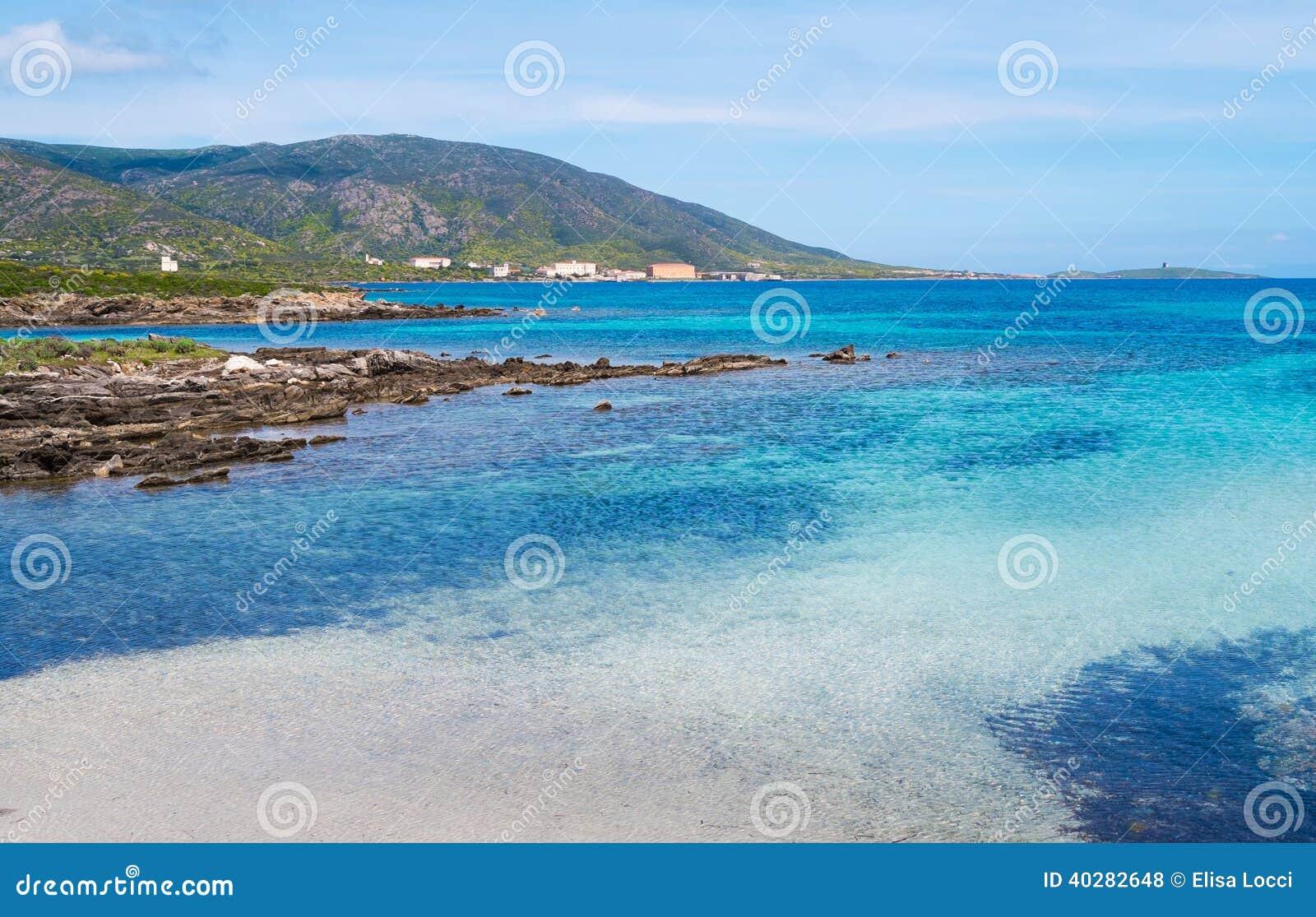 Остров Asinara в Сардинии, Италии