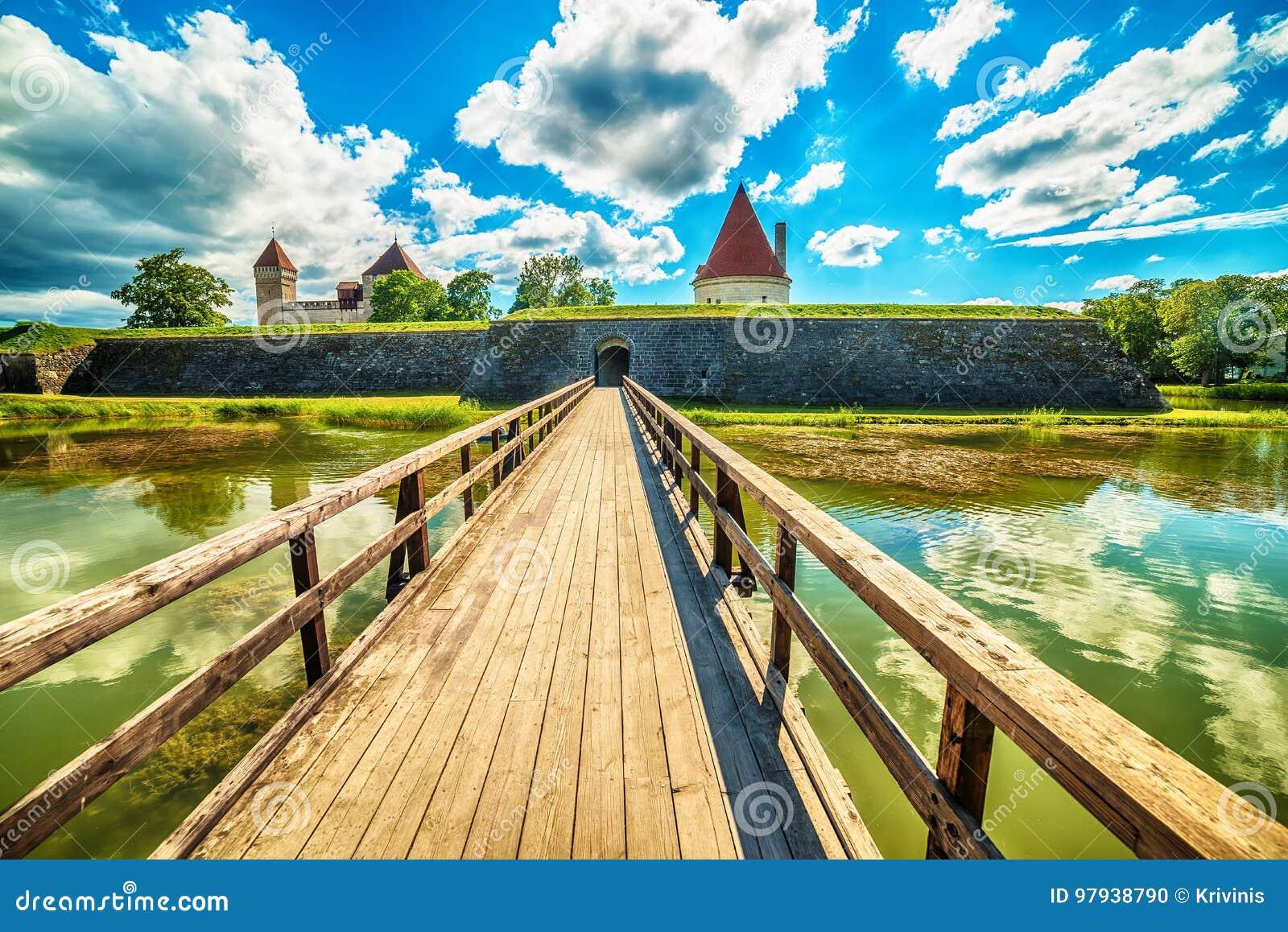 Остров Saarema, Эстония: Замок Kuressaare епископский