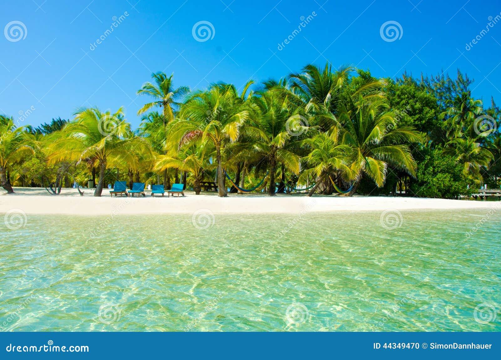 Ослаблять на стуле - красивом острове
