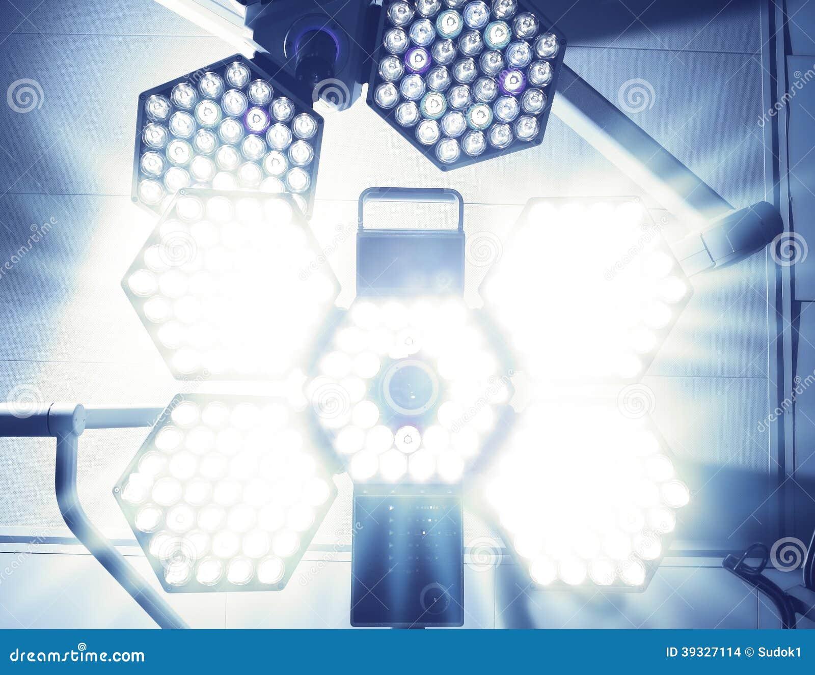 Ослеплять светлый хирургической лампы