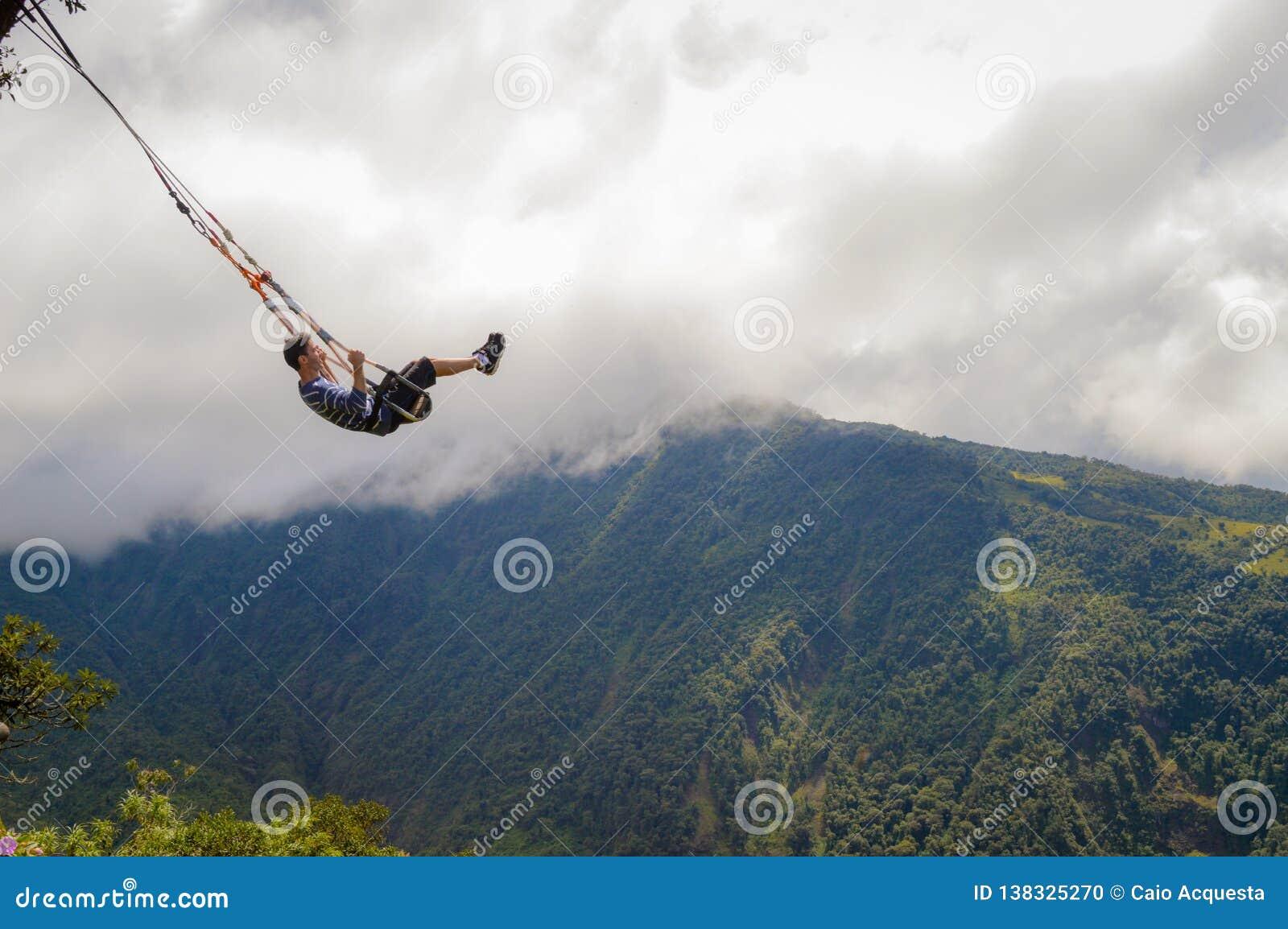 Отбрасывать, шалаш на дереве, летание, baños
