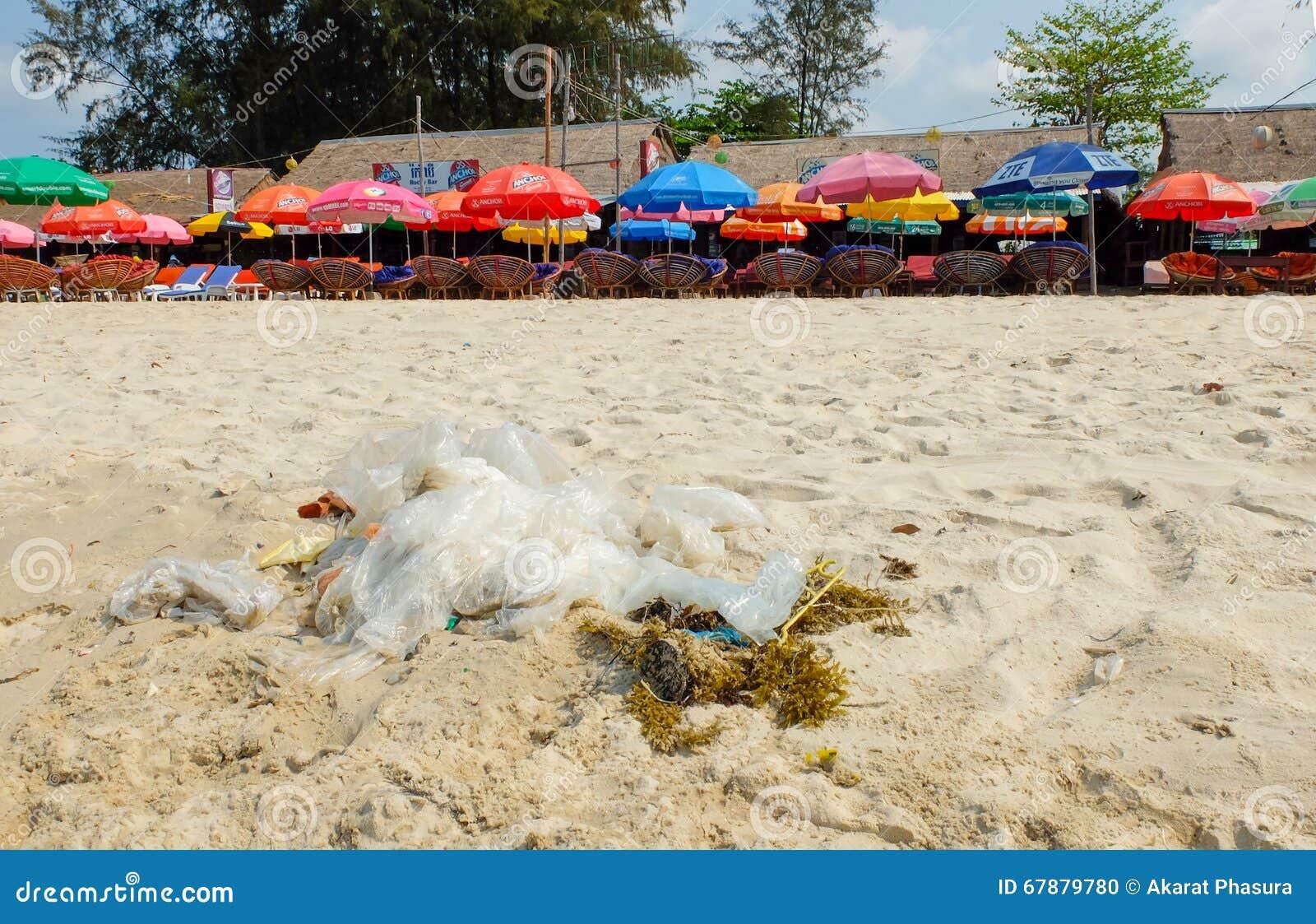 Отброс на пляже