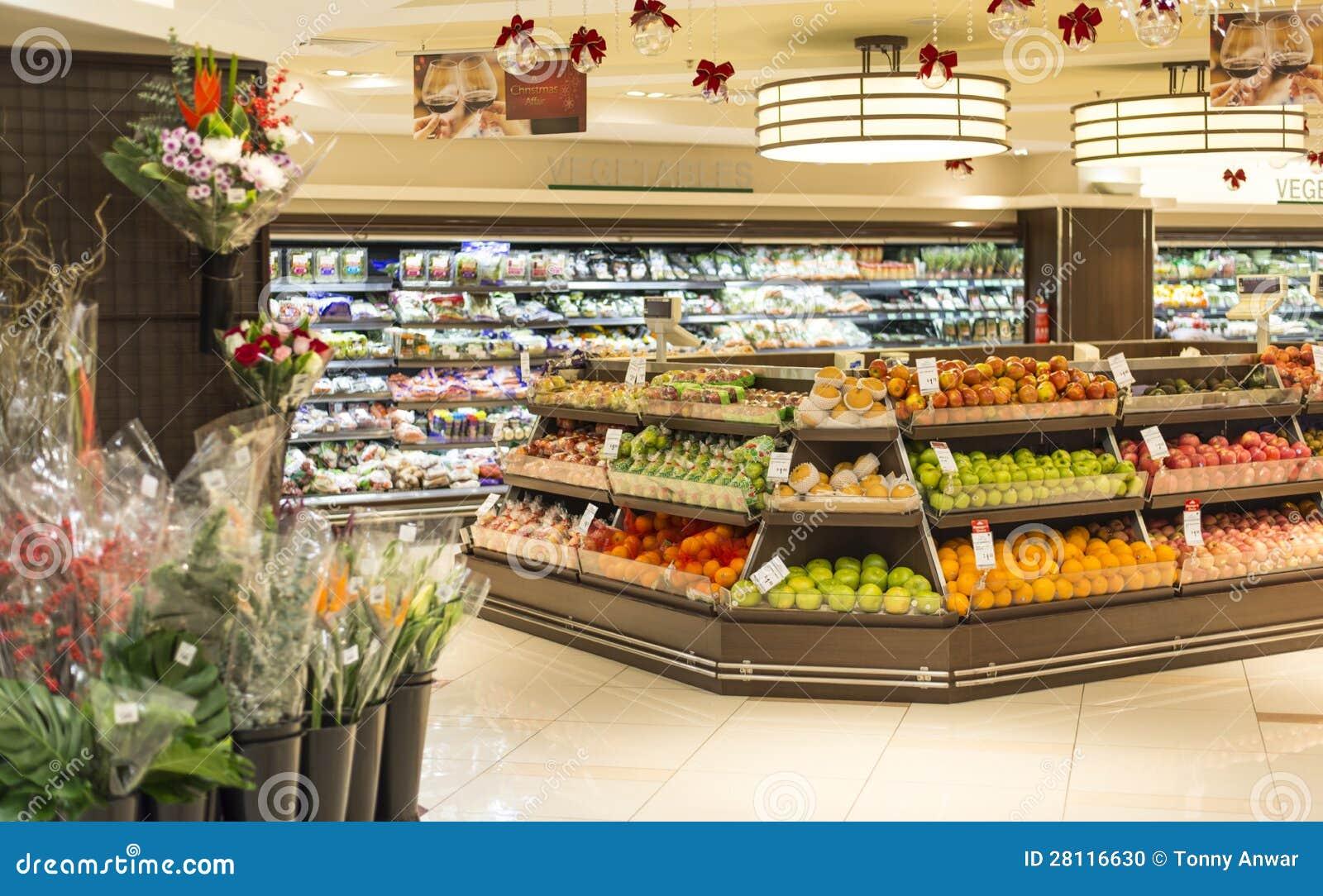 Отдел фрукта и овоща