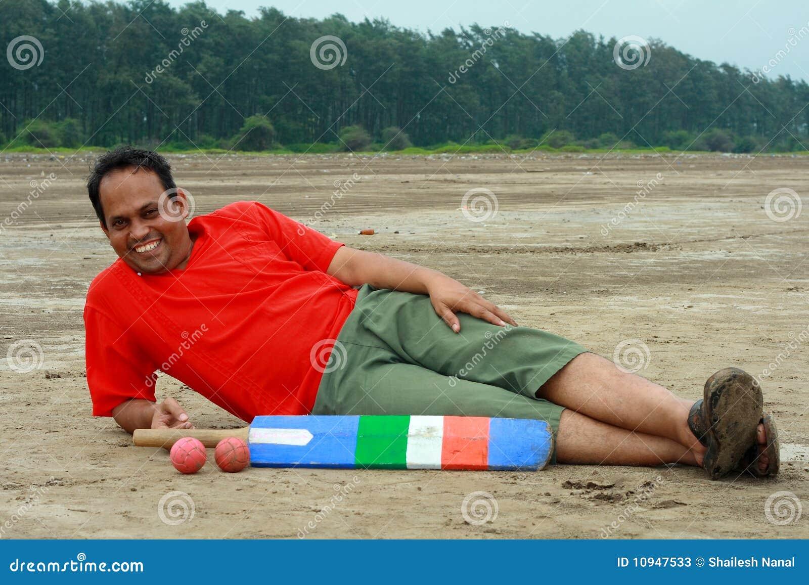отдыхать игрока сверчка индийский