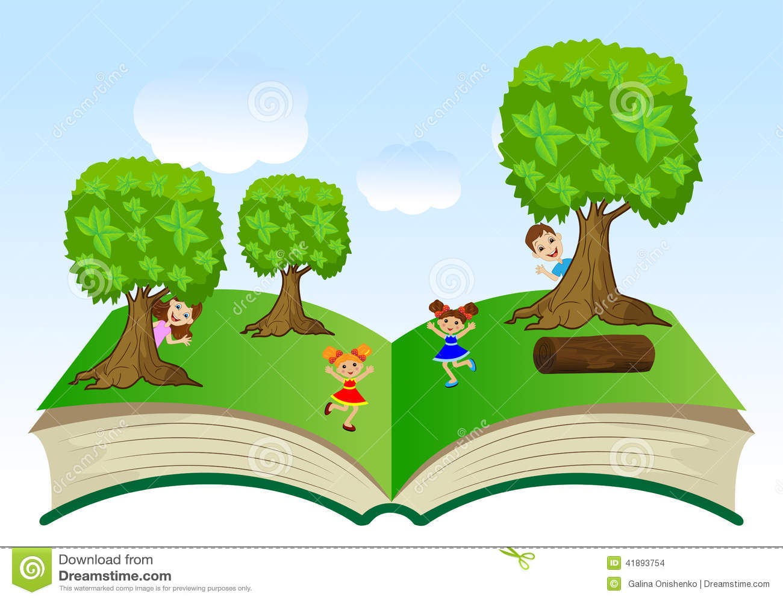 картинки для детей раскрытая книга