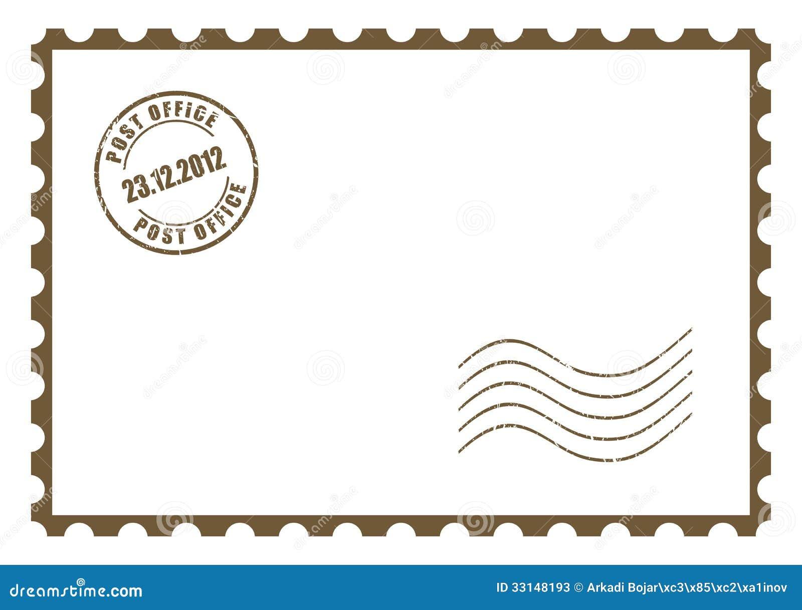 Почтовые открытки в векторе