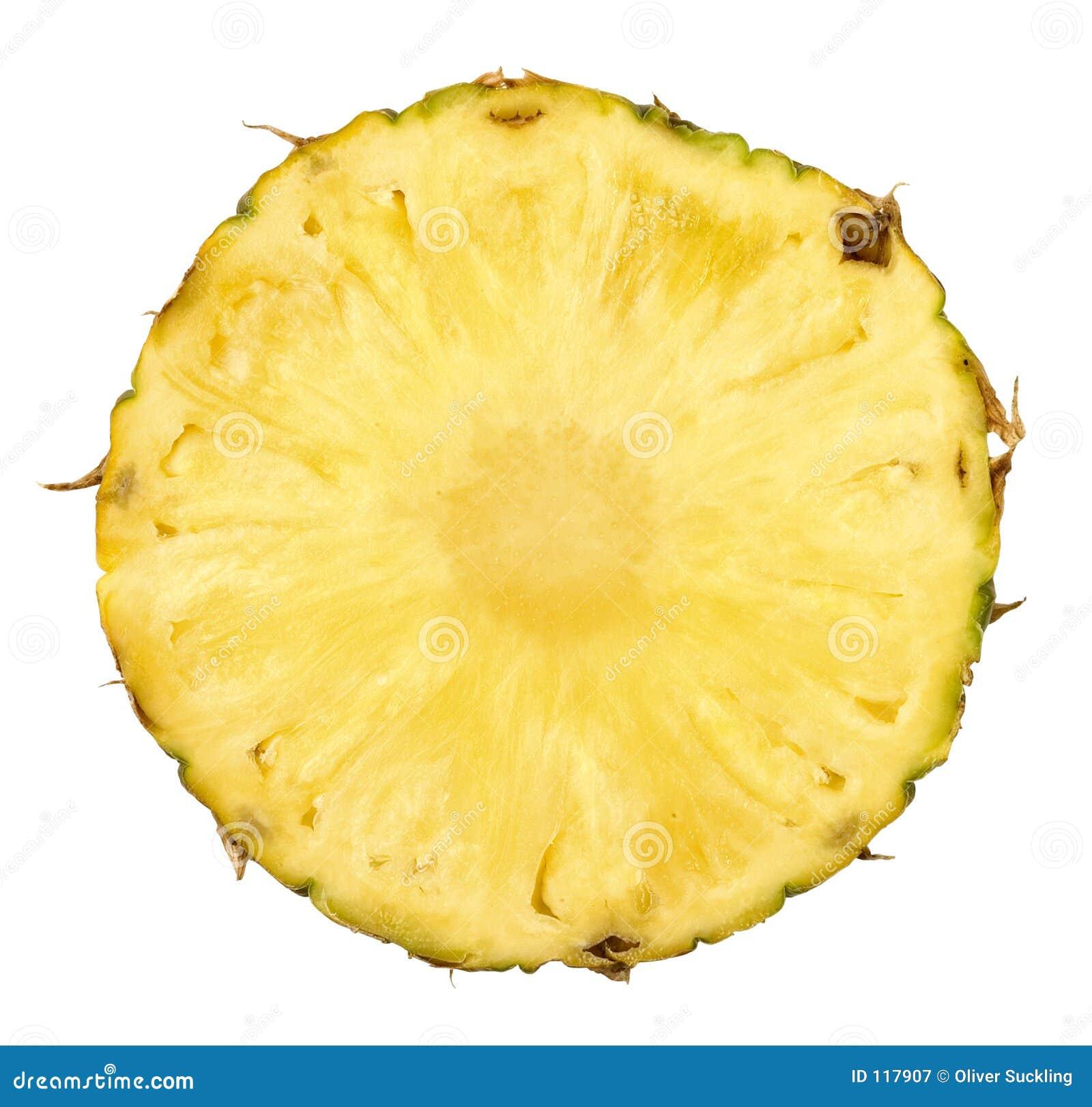 отрезанный ананас