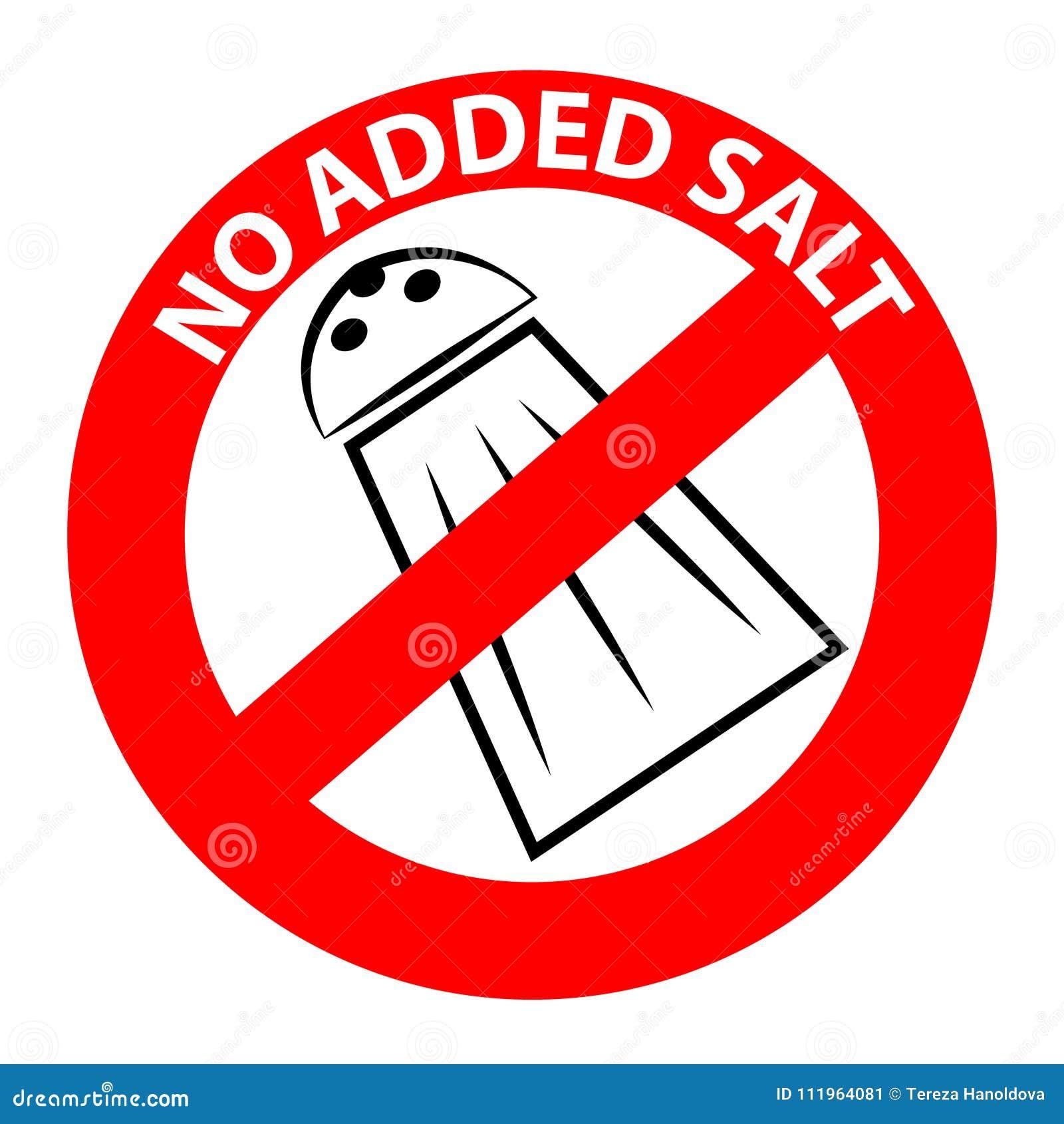 Отсутствие добавленного символа соли