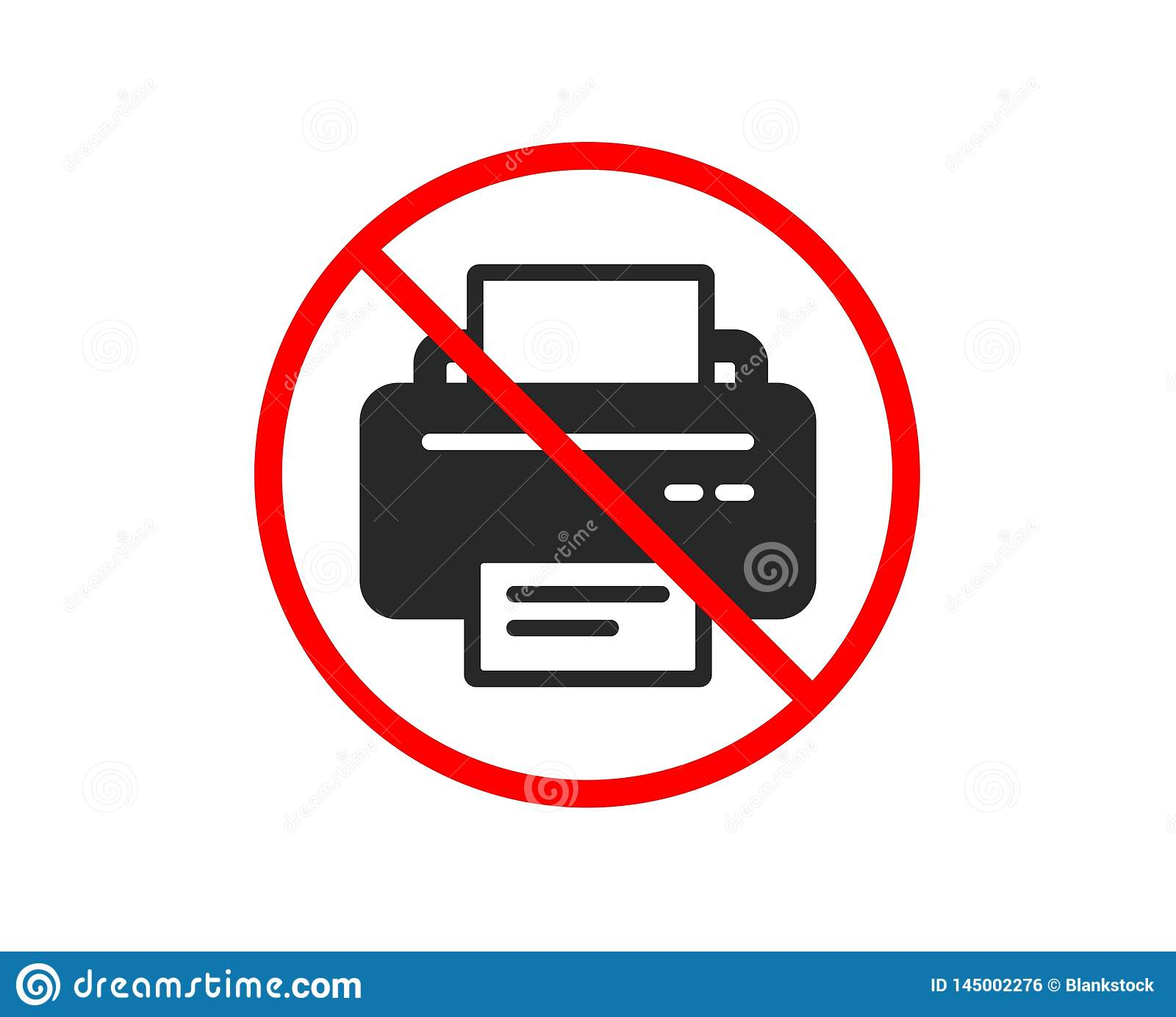 Значок принтера Знак прибора распечатки r