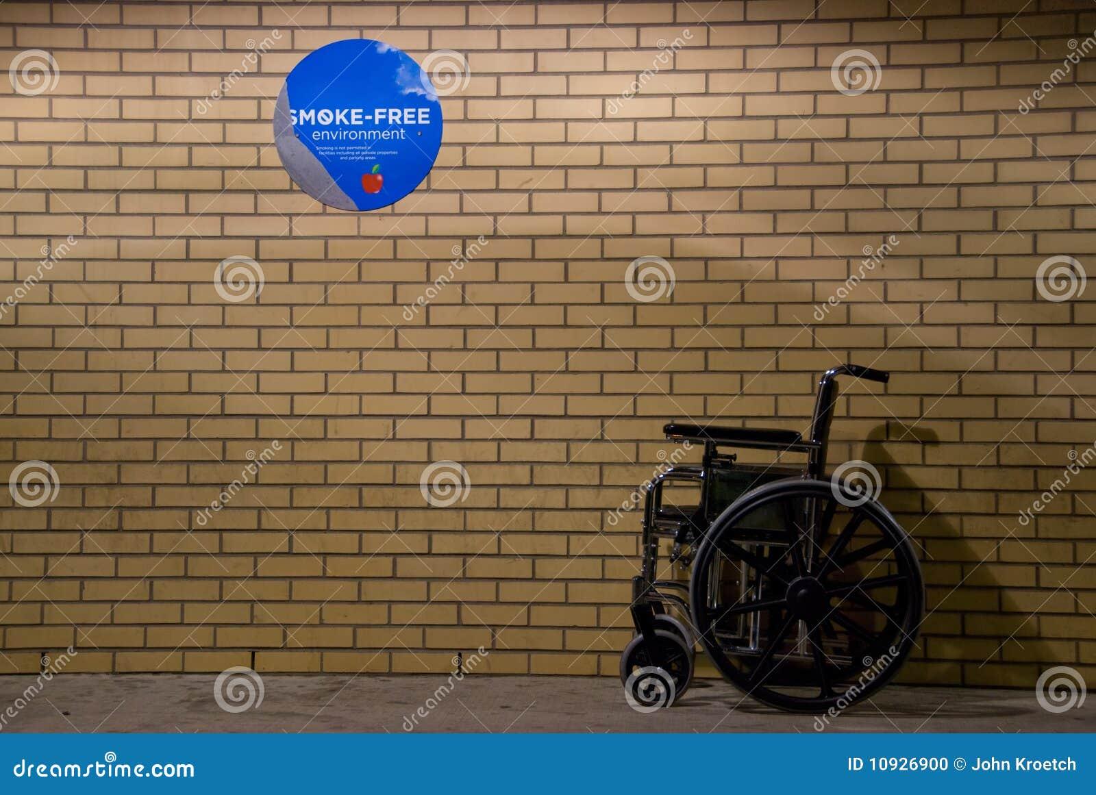 отсутствие кресло-коляскы знака куря