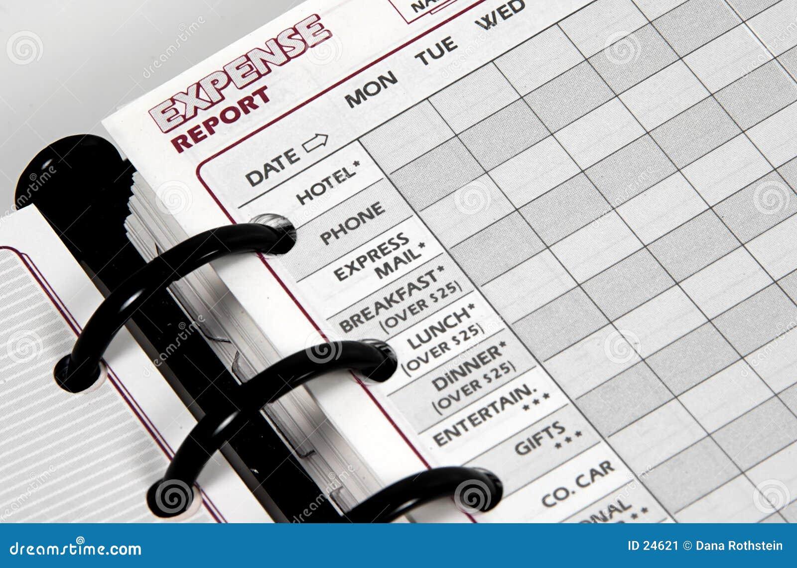 отчет о расхода