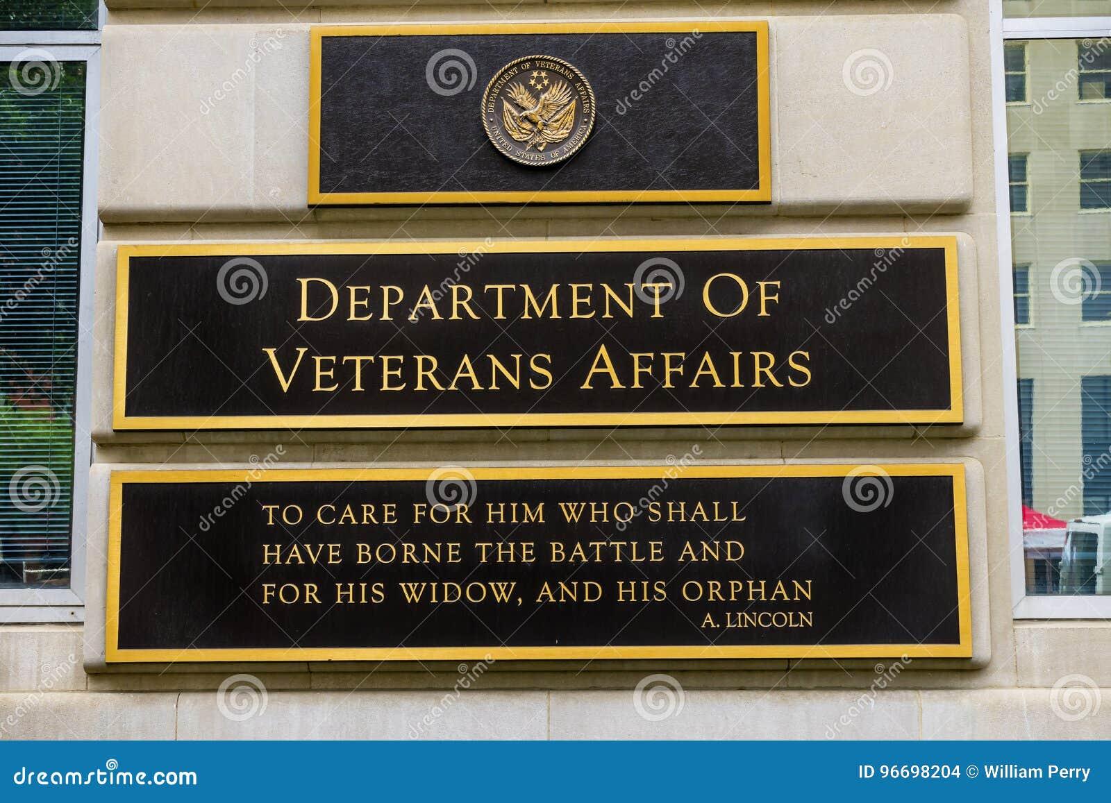 Отдел DC Вашингтона дел ветерана