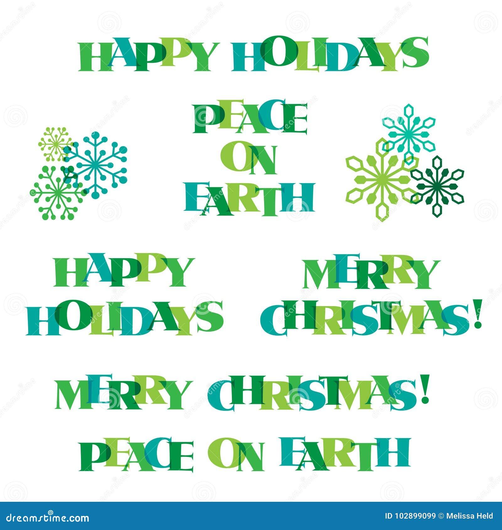 оформление рождества голубого зеленого цвета и графики снежинки