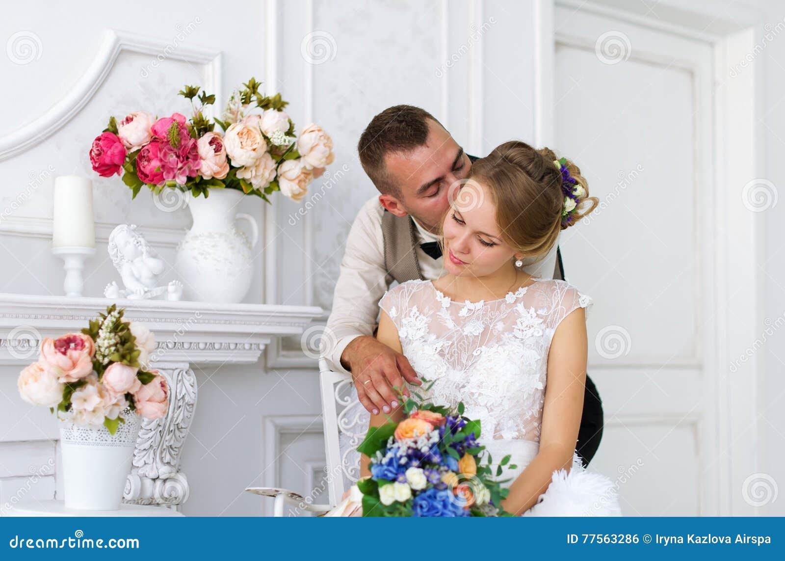 Стоковое фото невеста и жених 6
