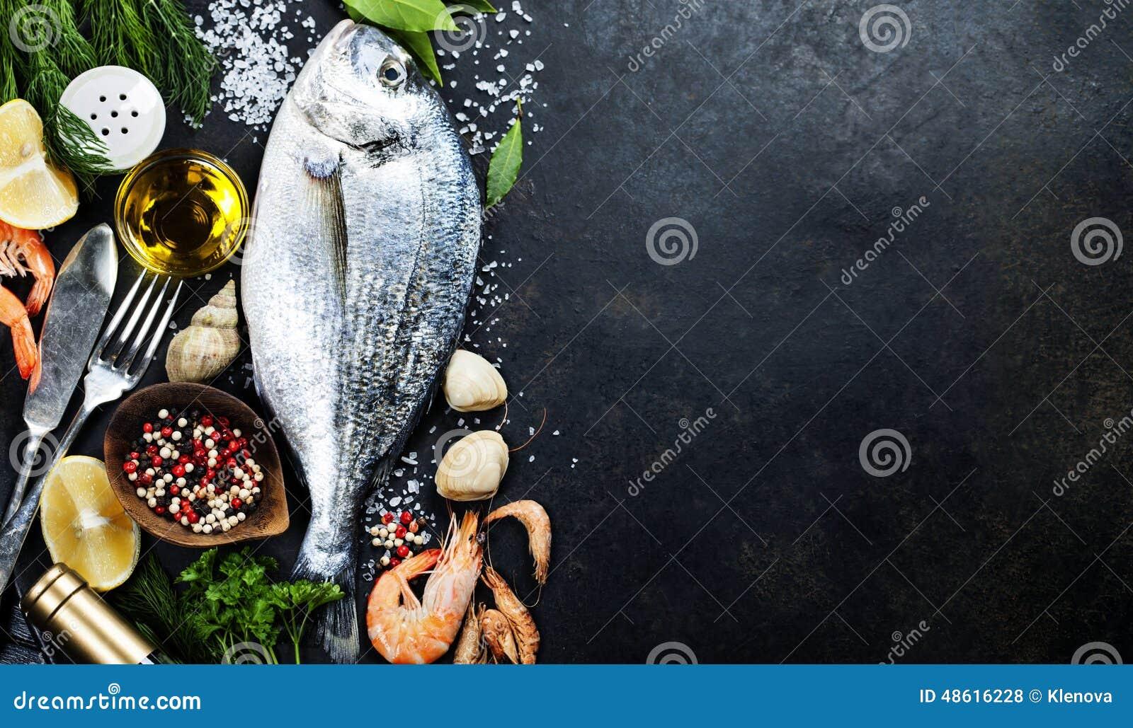 Очень вкусные свежие рыбы