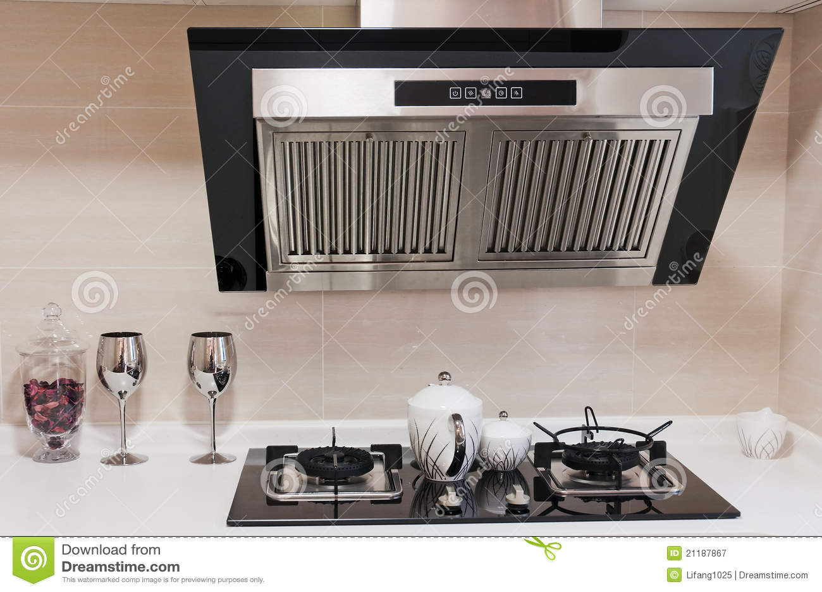 очистьте кухню самомоднейшую