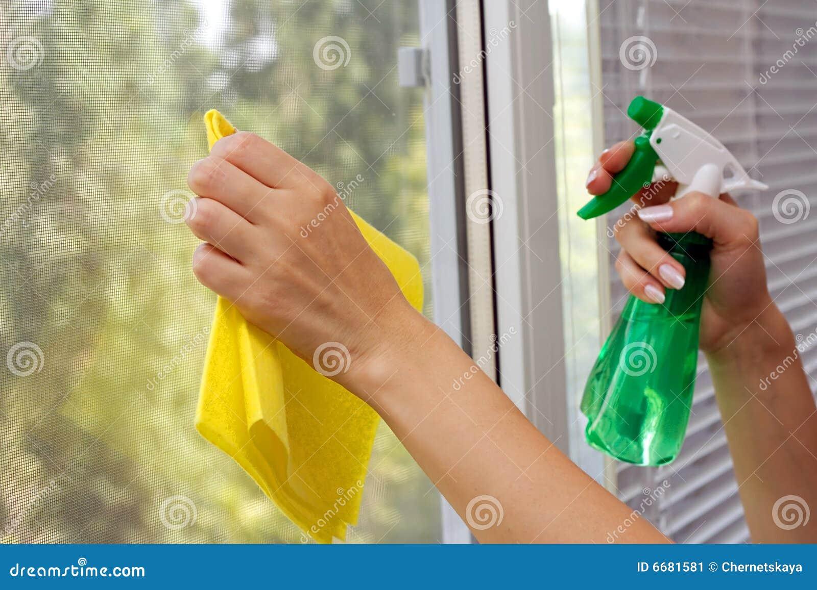 очистьте окно