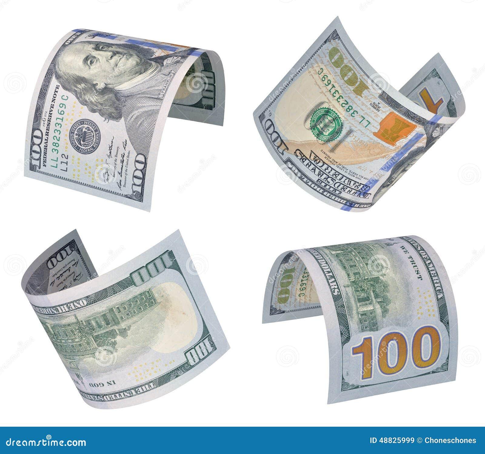 100 долларов счетов