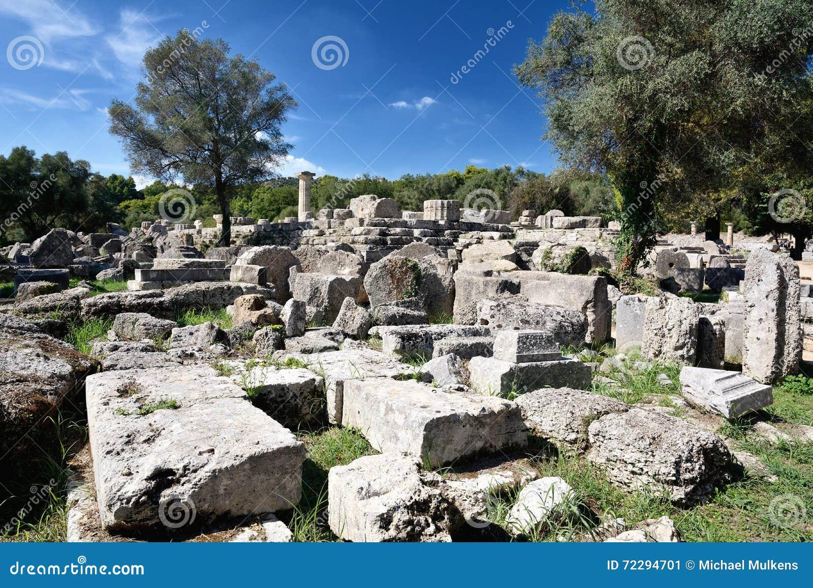 Download Олимпия Греции стоковое изображение. изображение насчитывающей peloponnese - 72294701