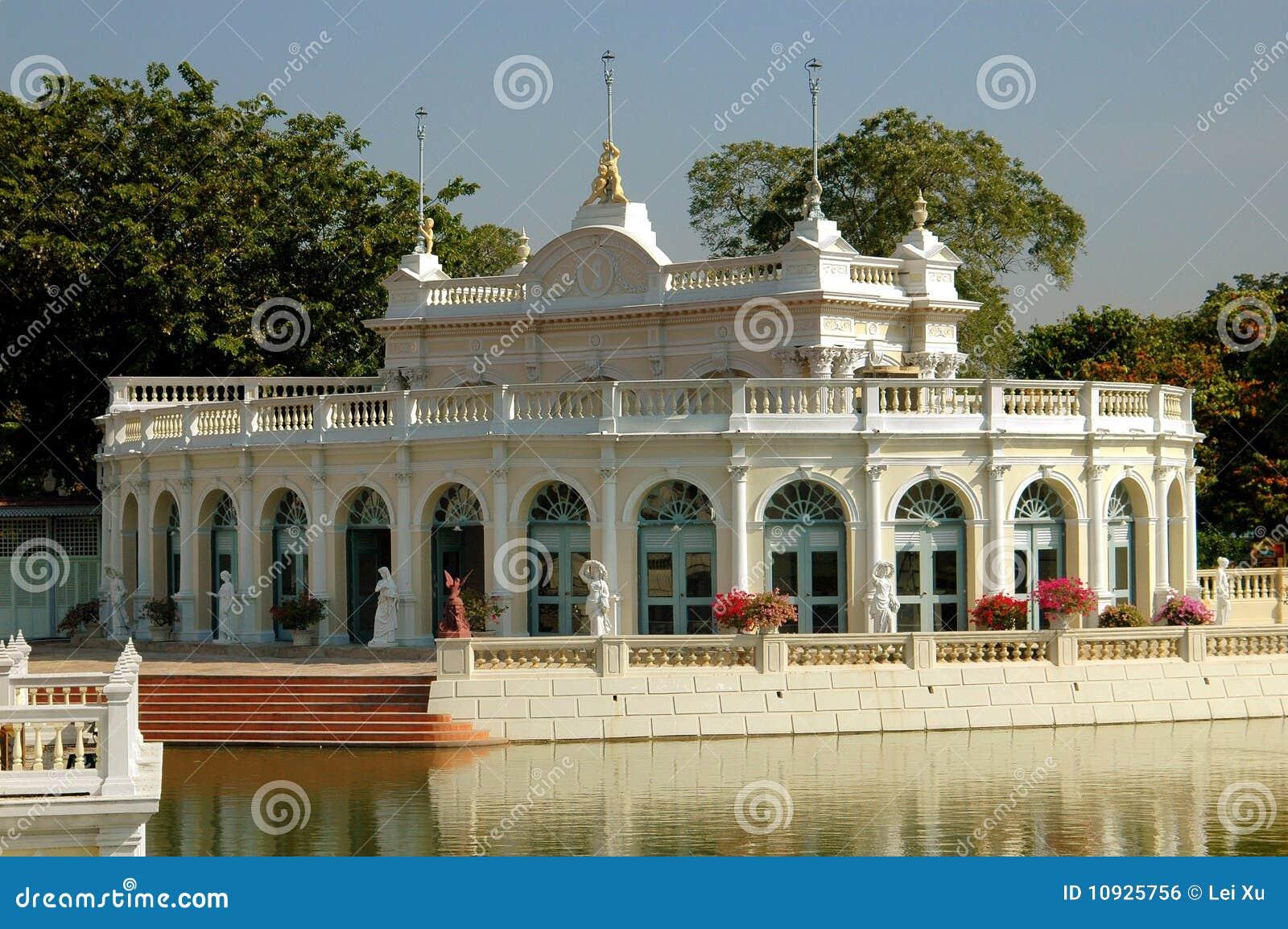 павильон королевский Таиланд дворца ayutthaya