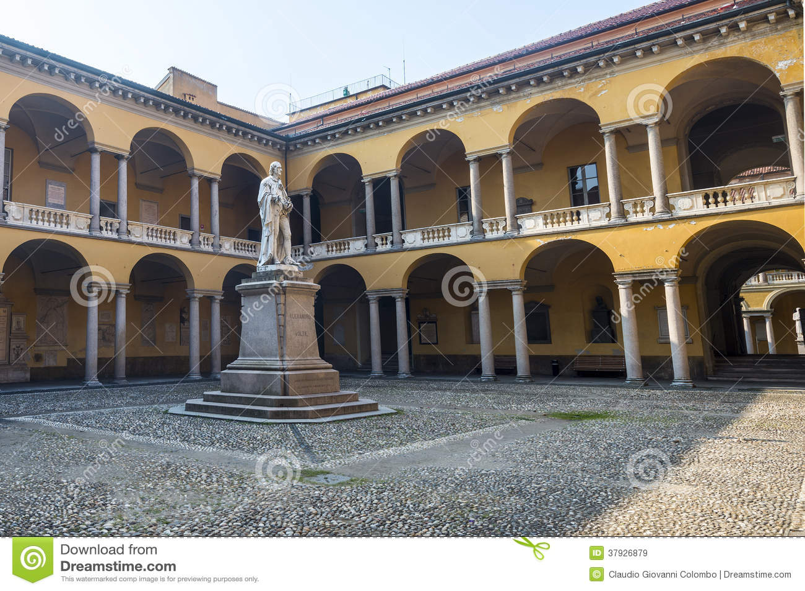Павия, суд университета