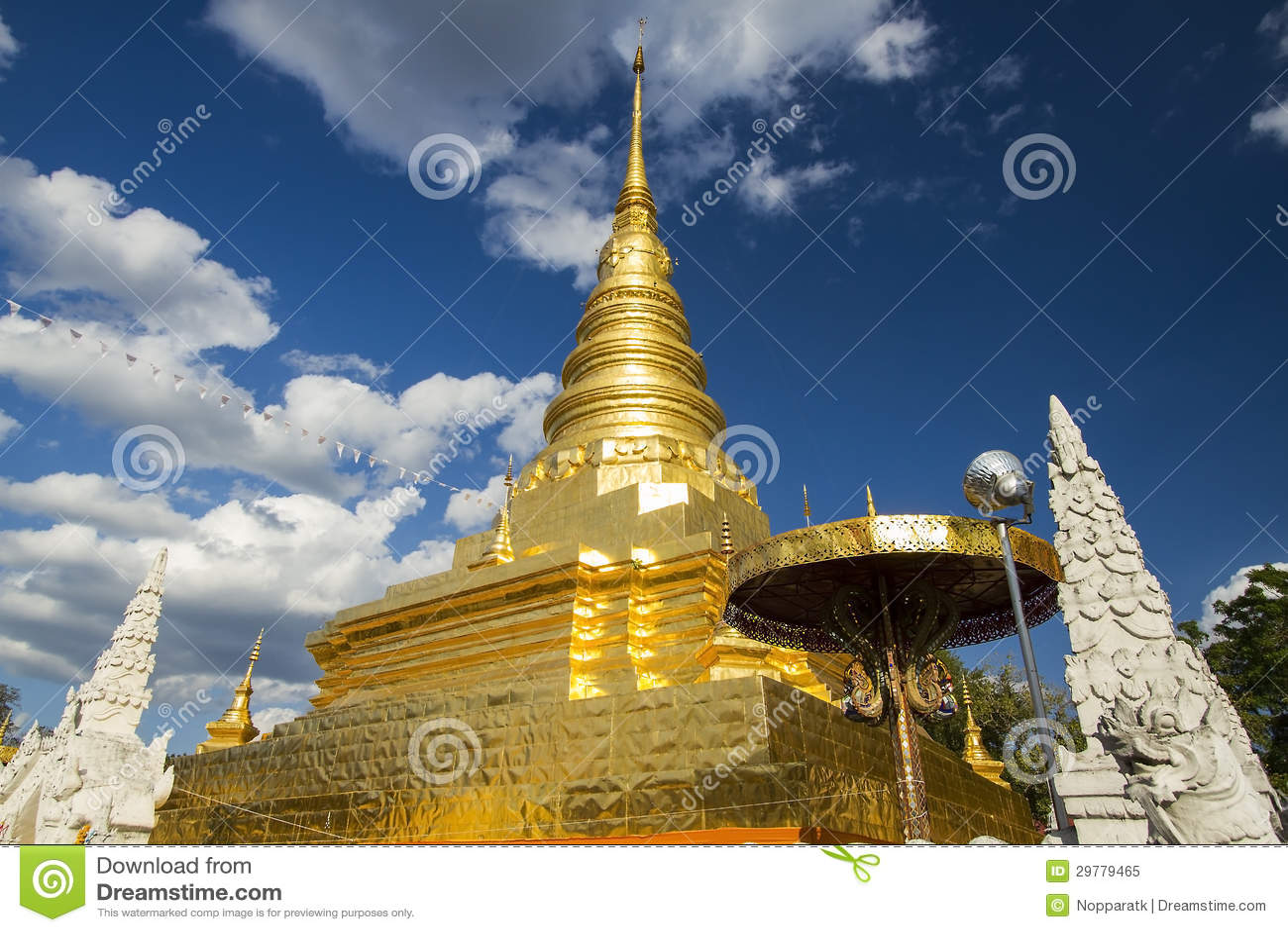 Пагода Gloden
