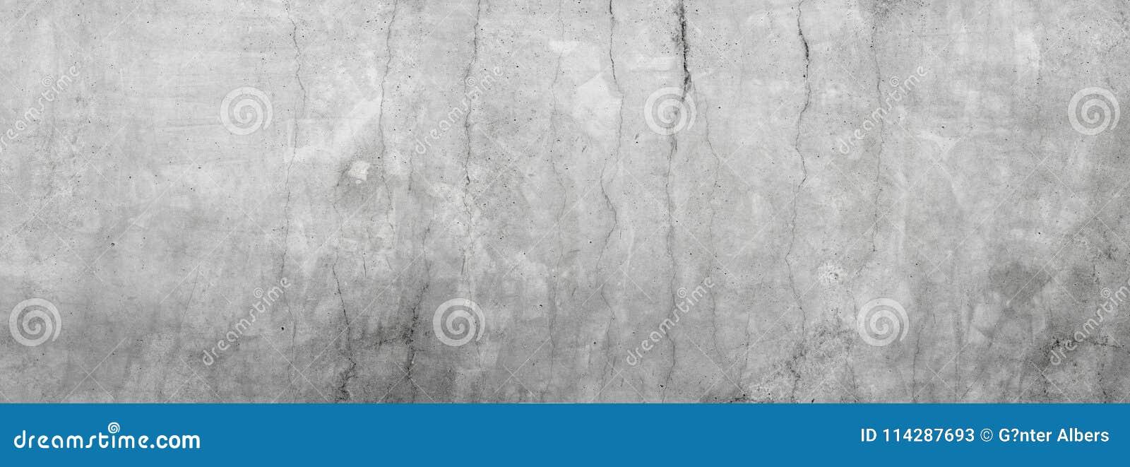Пакостная серая бетонная стена