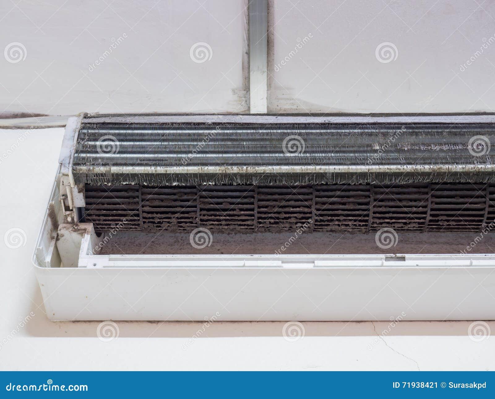 Пакостный вентилятор клетки белки в кондиционере воздуха