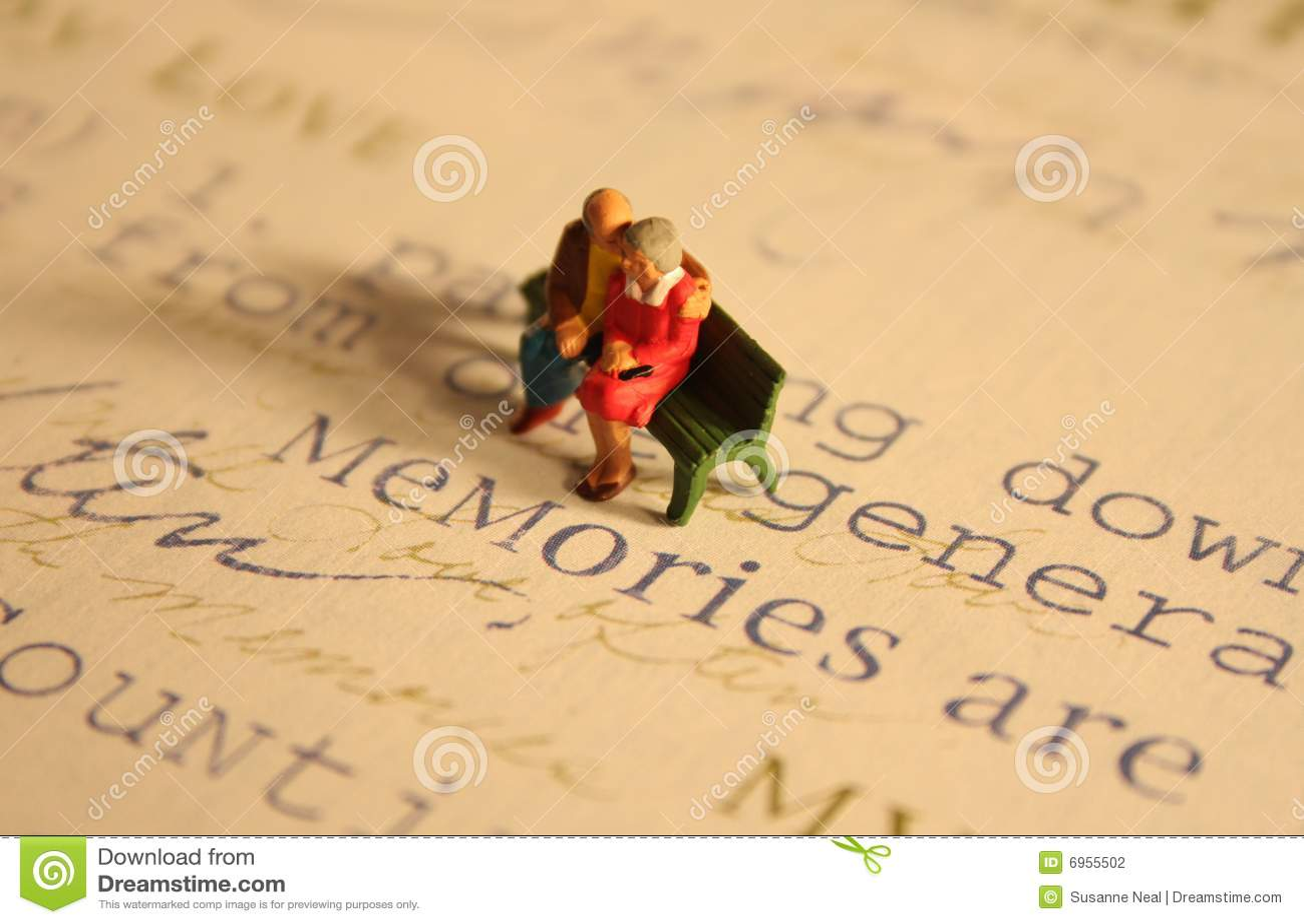 памяти пожилых людей пар
