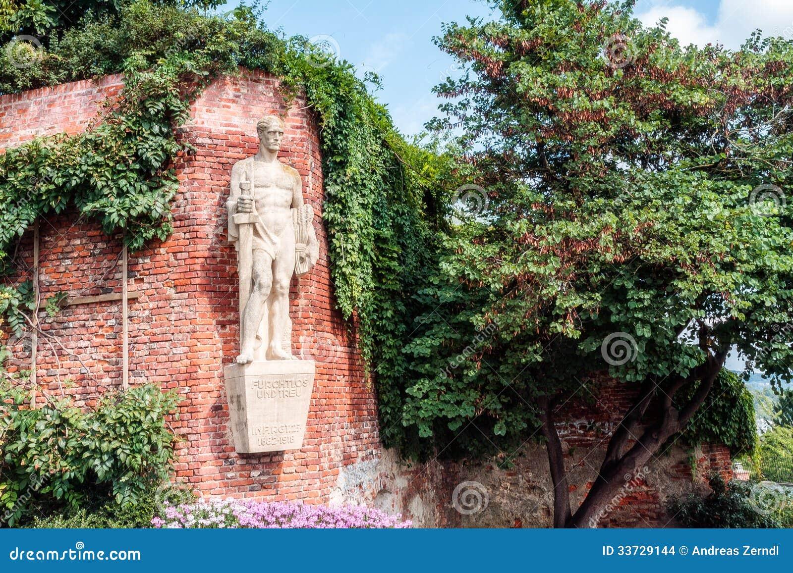 Памятник героев Граца.