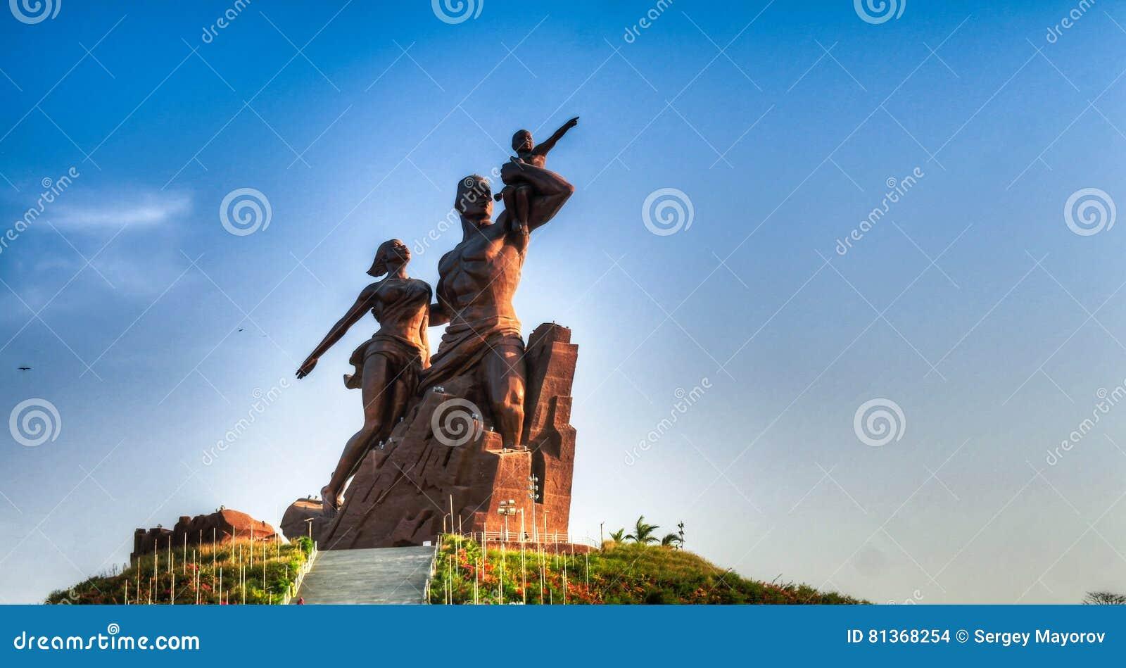 Памятник ренессанса Африки, Дакар, Сенегал