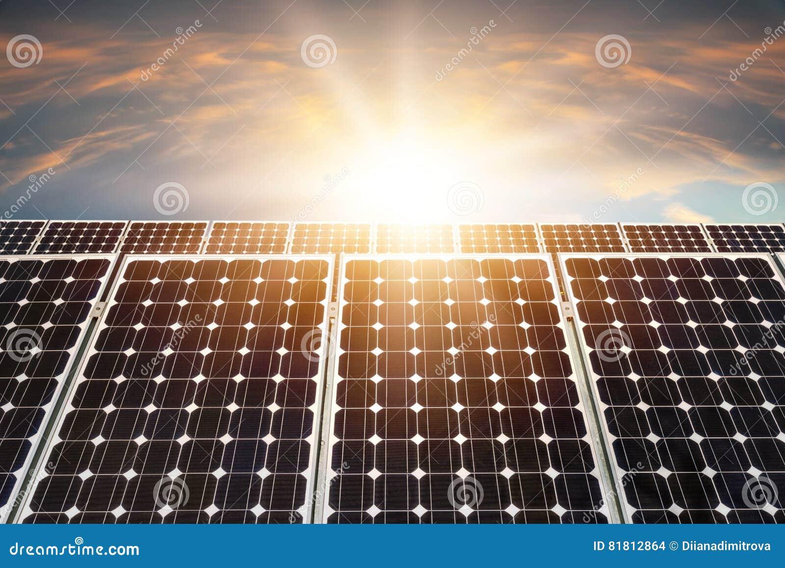 Панель солнечных батарей, фотовольтайческая