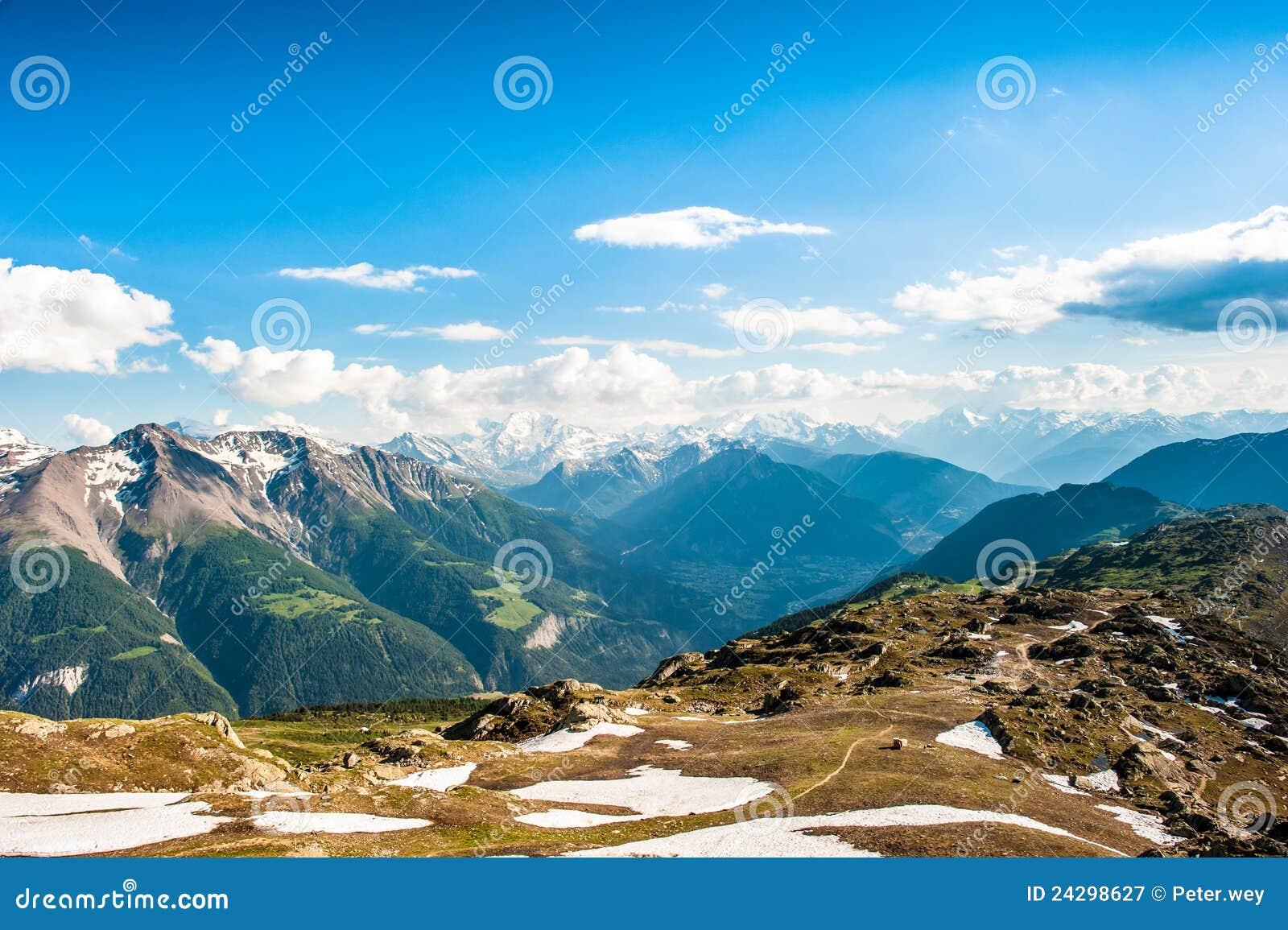панорама горы
