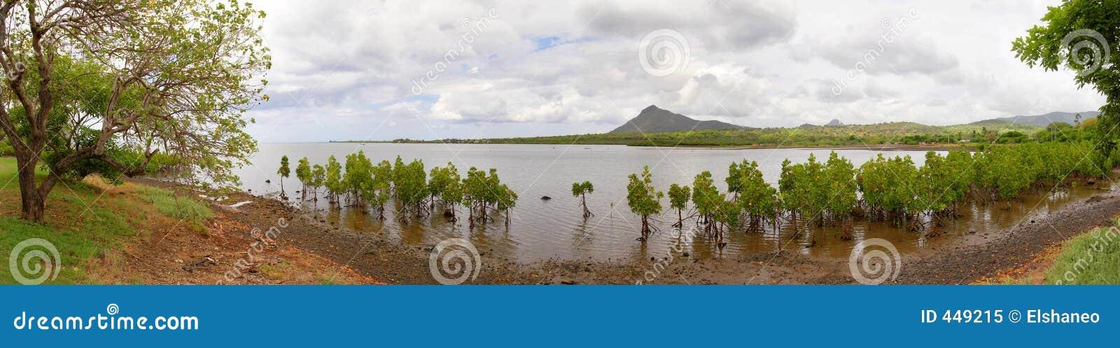 панорама Маврикия macond