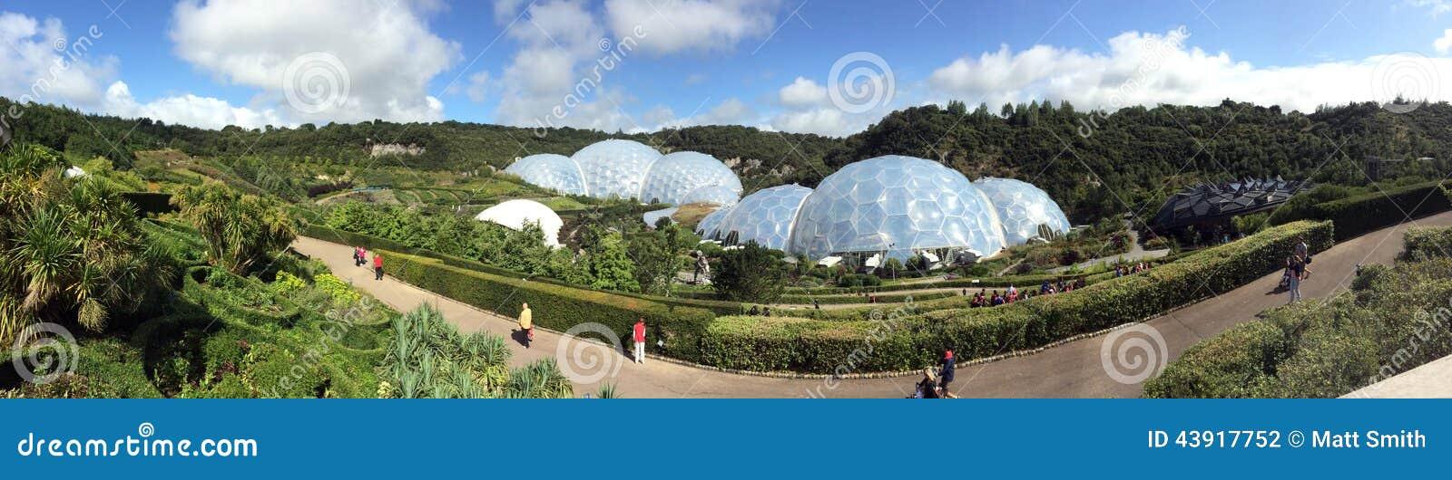 Панорама проекта Eden
