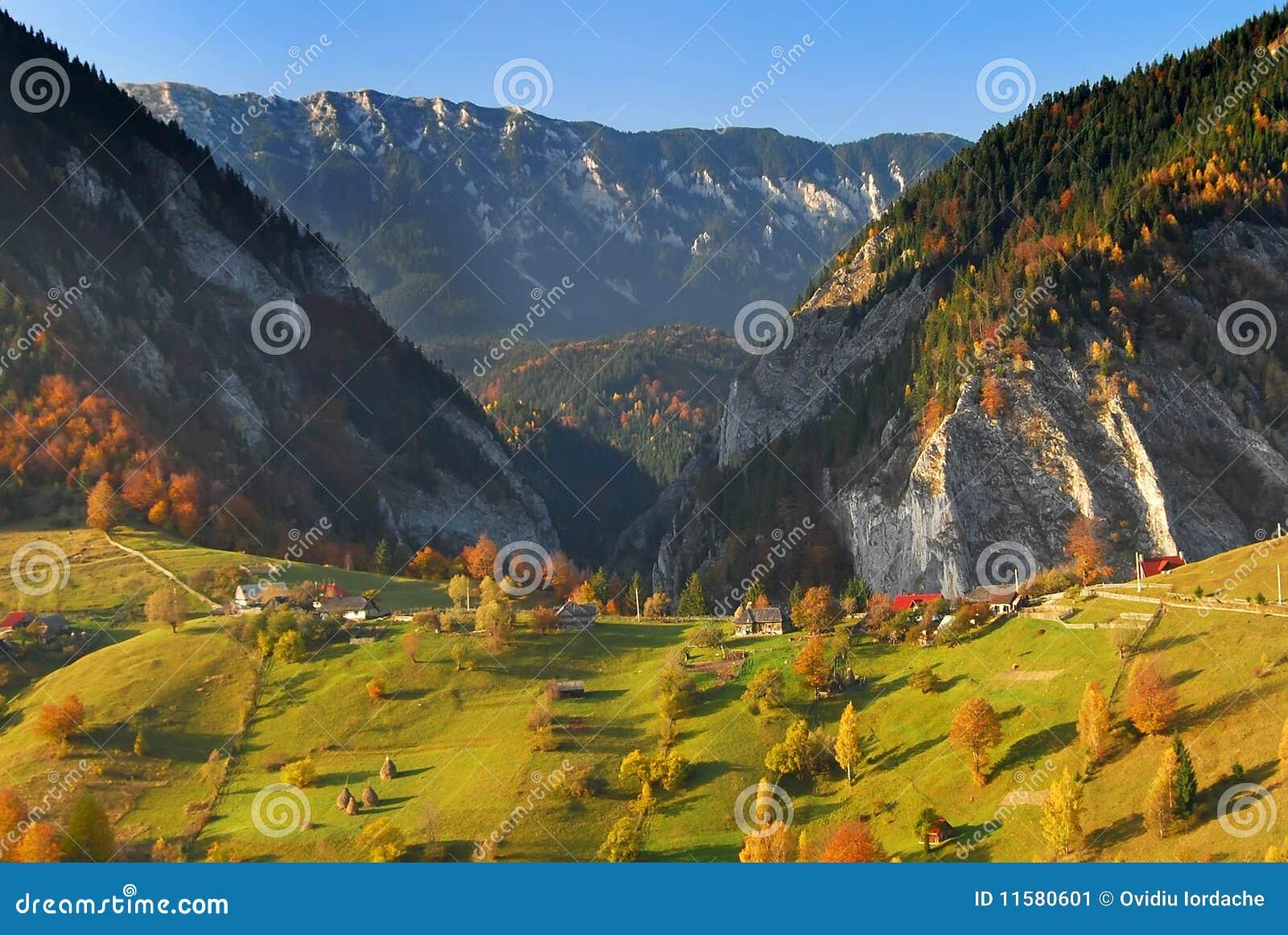 панорама Румыния ландшафта осени