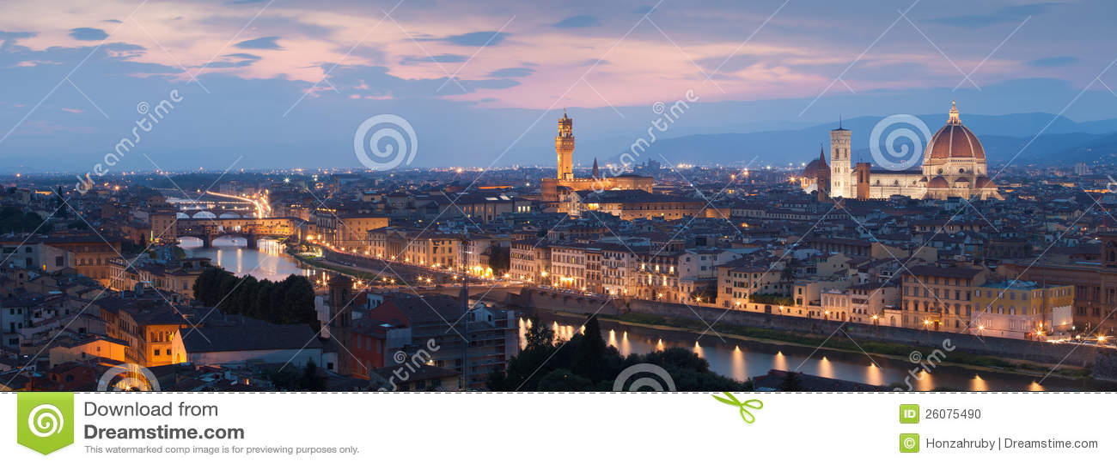 Панорама Флоренс