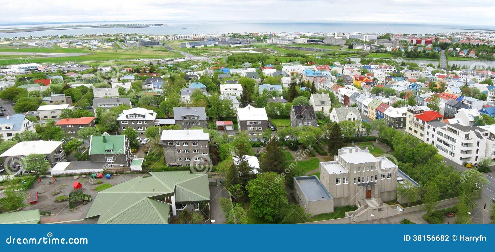 Панорама Reykjavik