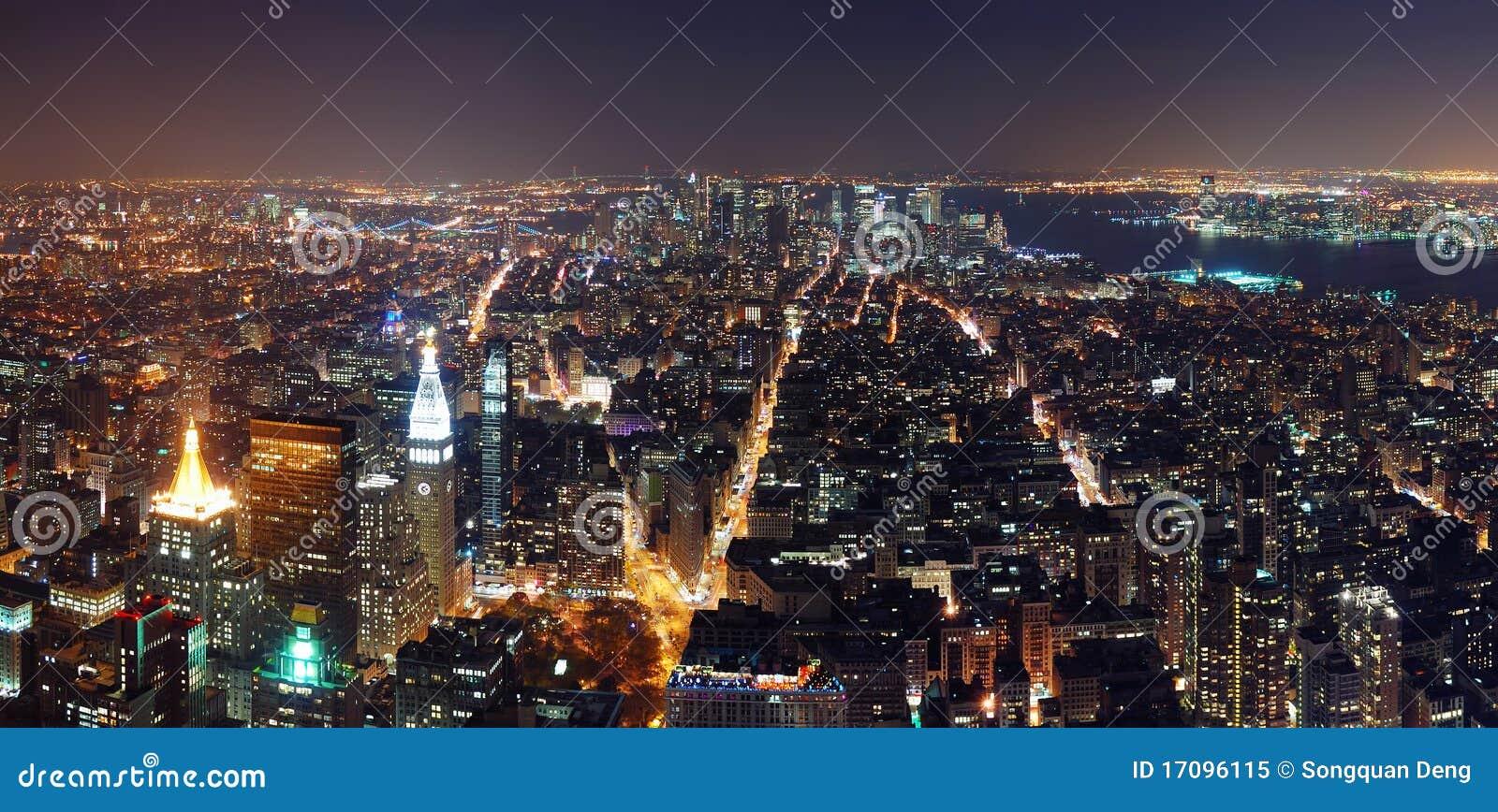 панорама york manhattan города новая