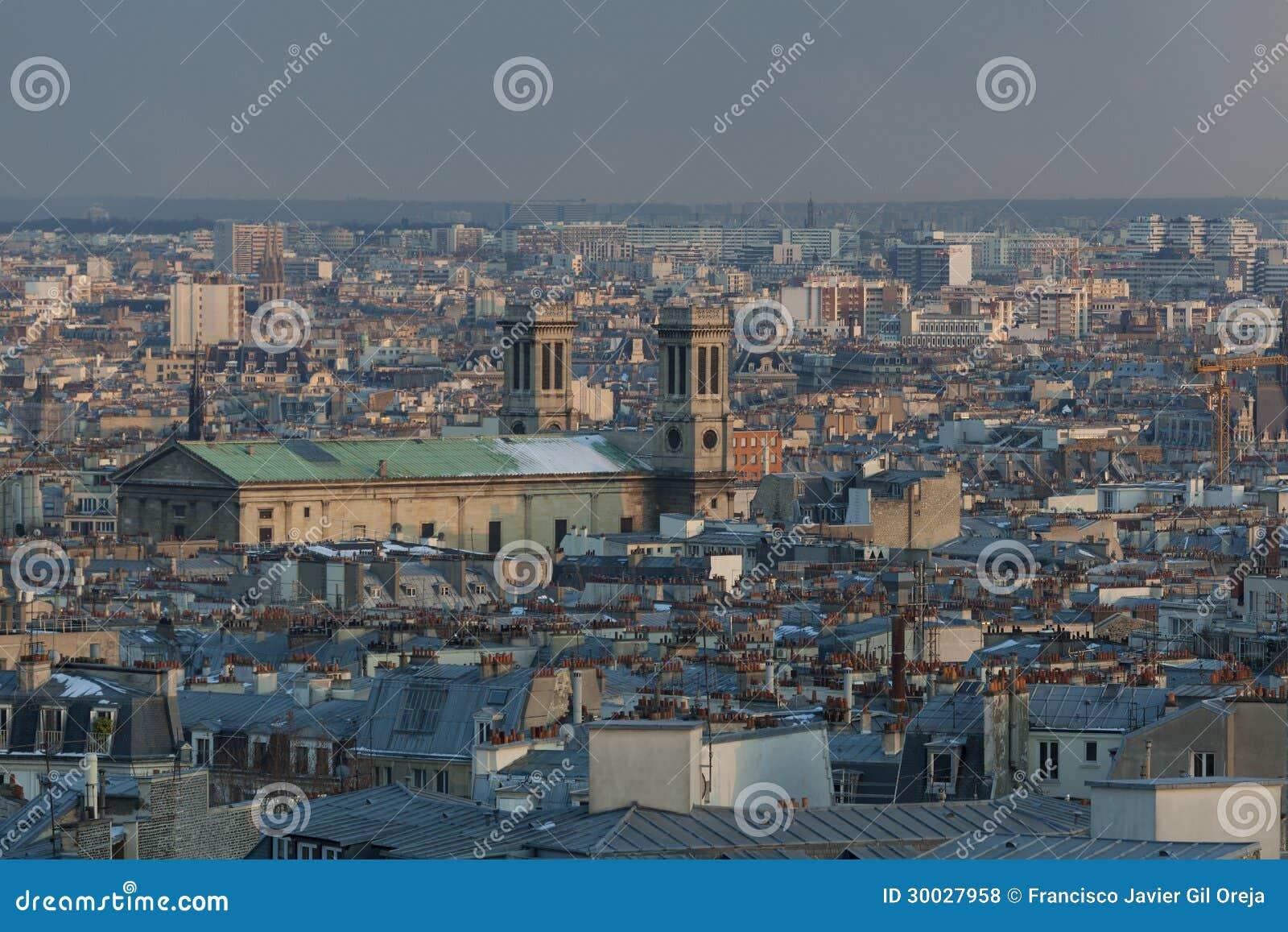 Панорамно Парижа