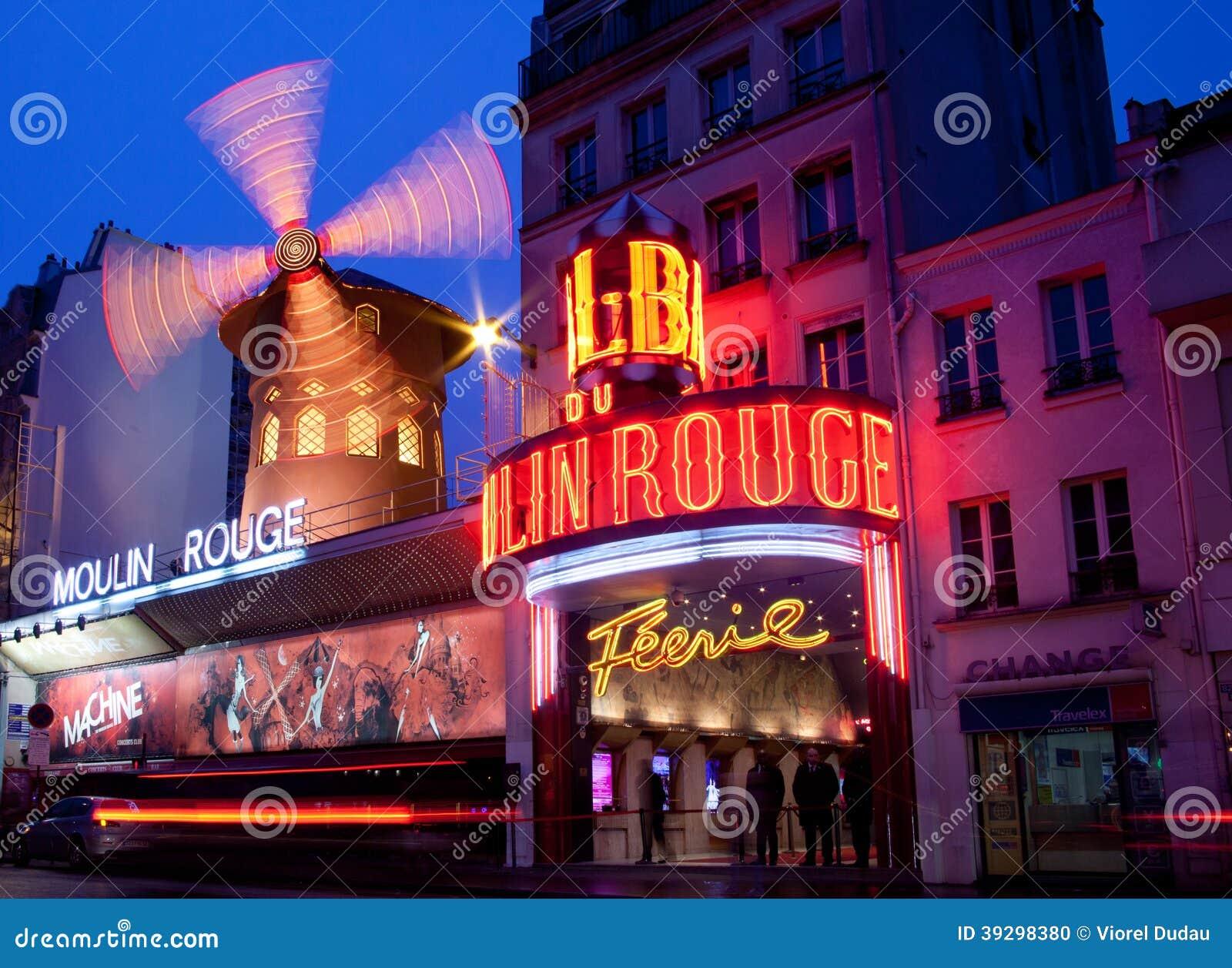 Париж, румян Moulin