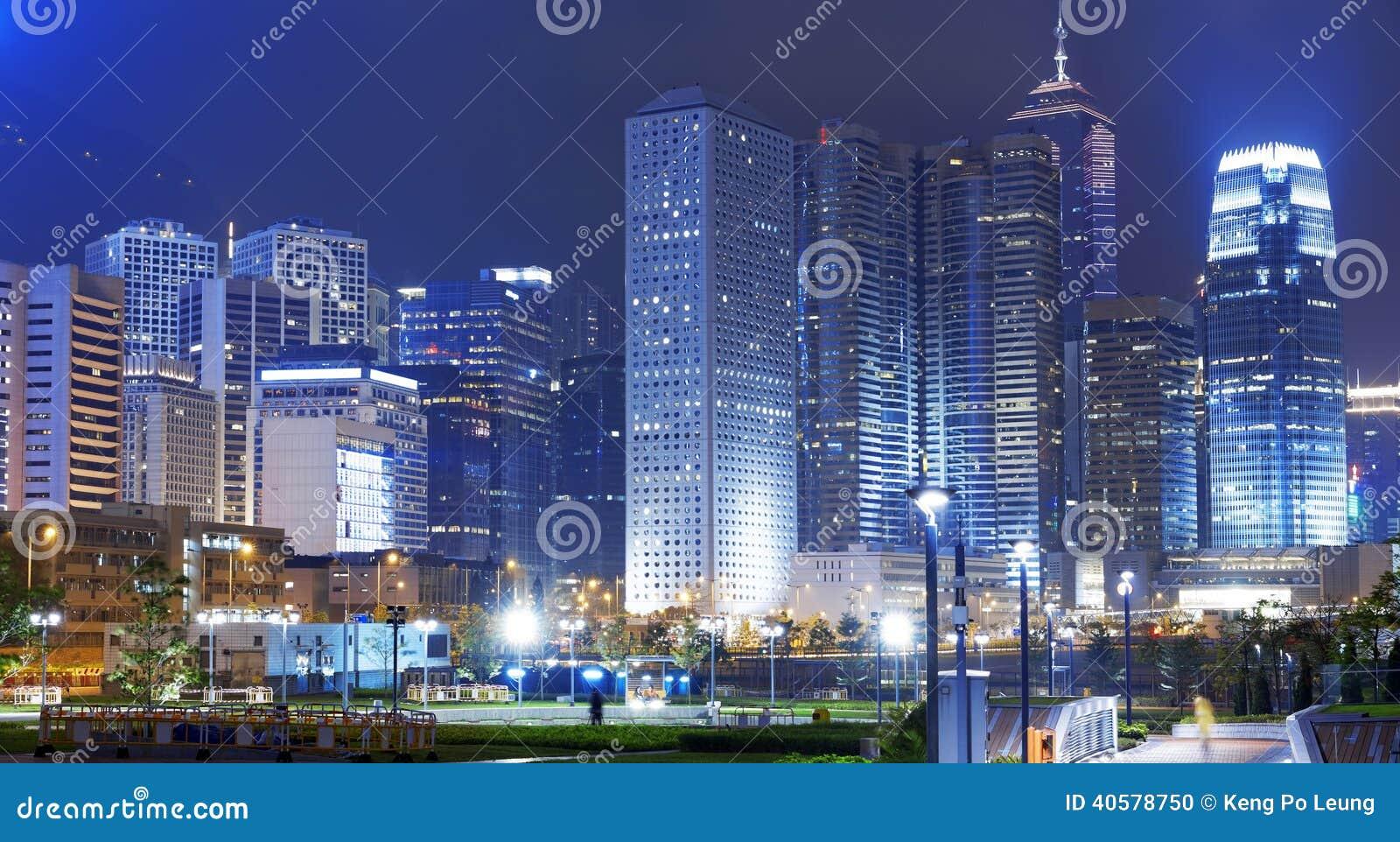 Парк в городе Гонконга